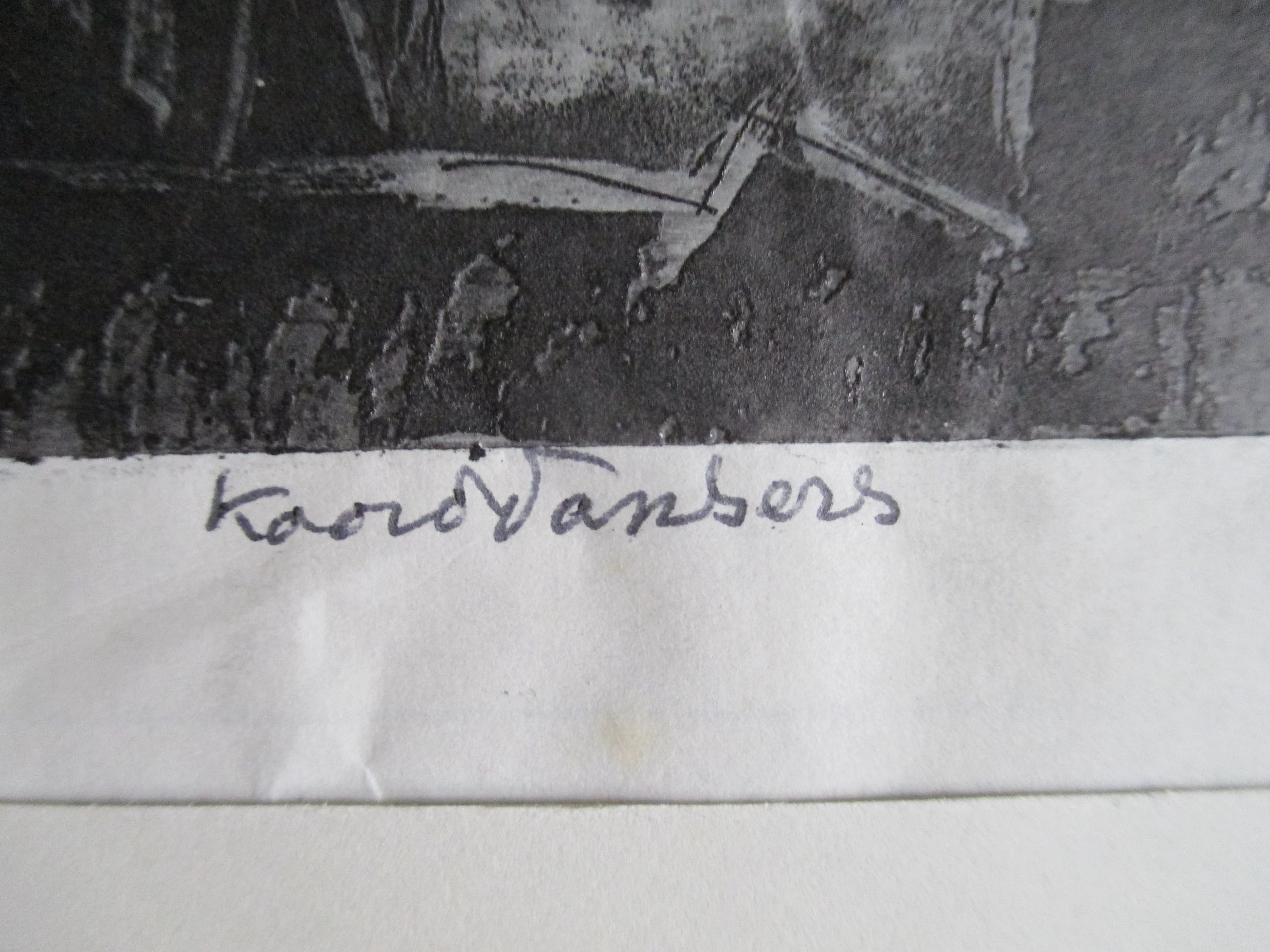"Karel Arkema - Ets ""Koorddansers"" kopen? Bied vanaf 45!"