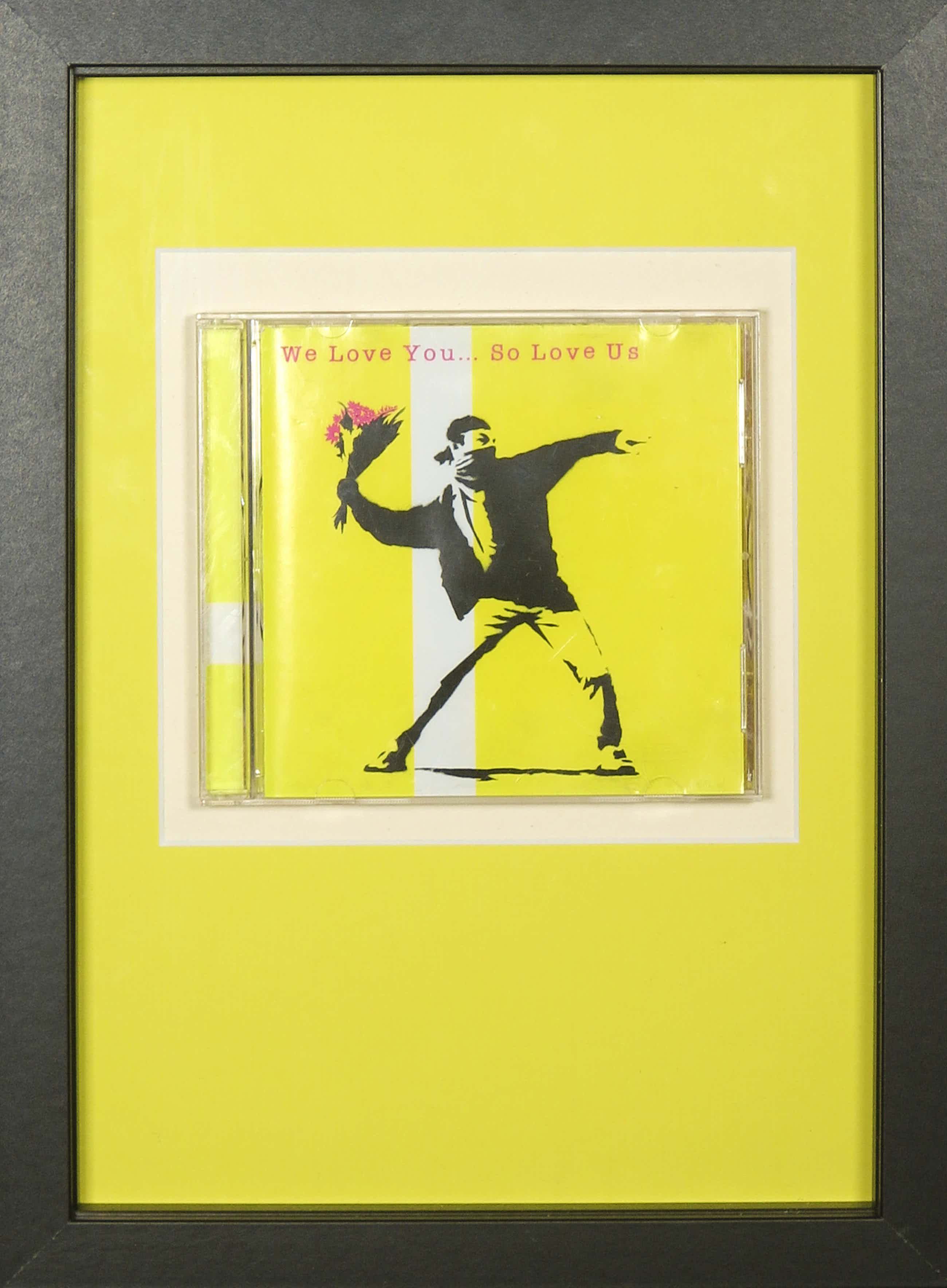 Banksy - We love you... so love us (CD) - Ingelijst kopen? Bied vanaf 156!