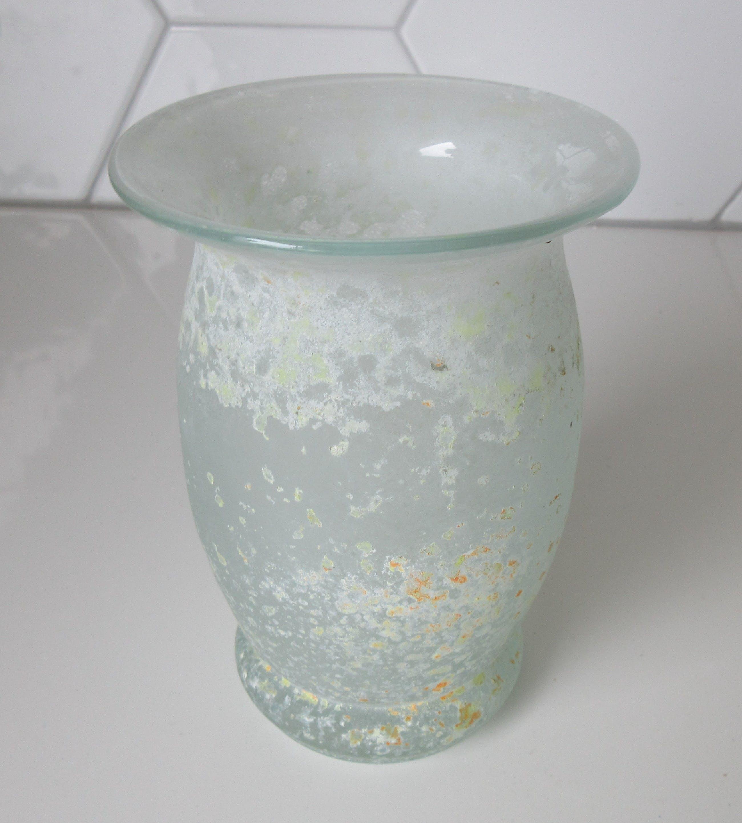 Seguso - Blank glazen Scavo vaas kopen? Bied vanaf 1!
