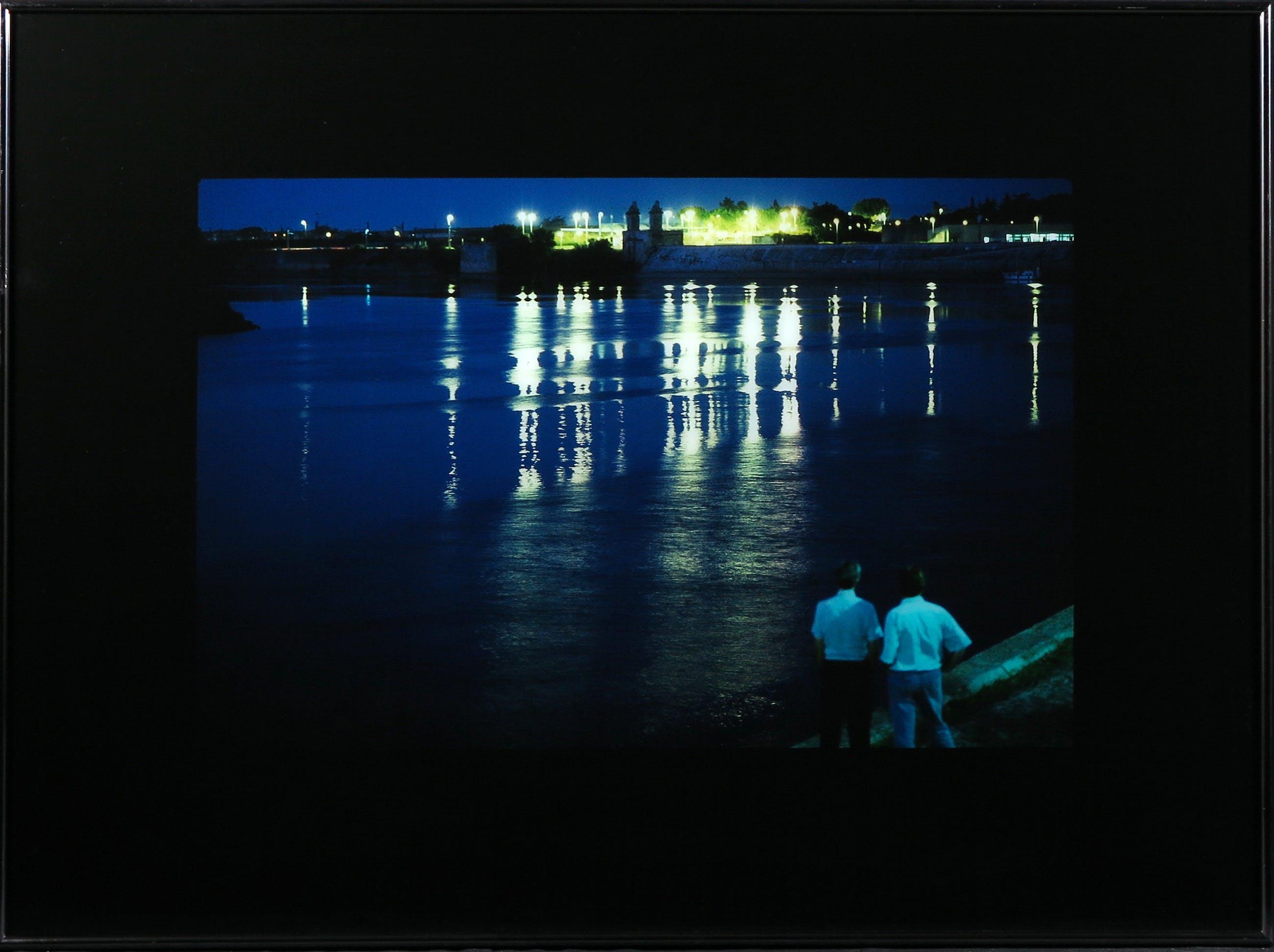 Paul Huf - Foto, Nightview - Ingelijst kopen? Bied vanaf 1!