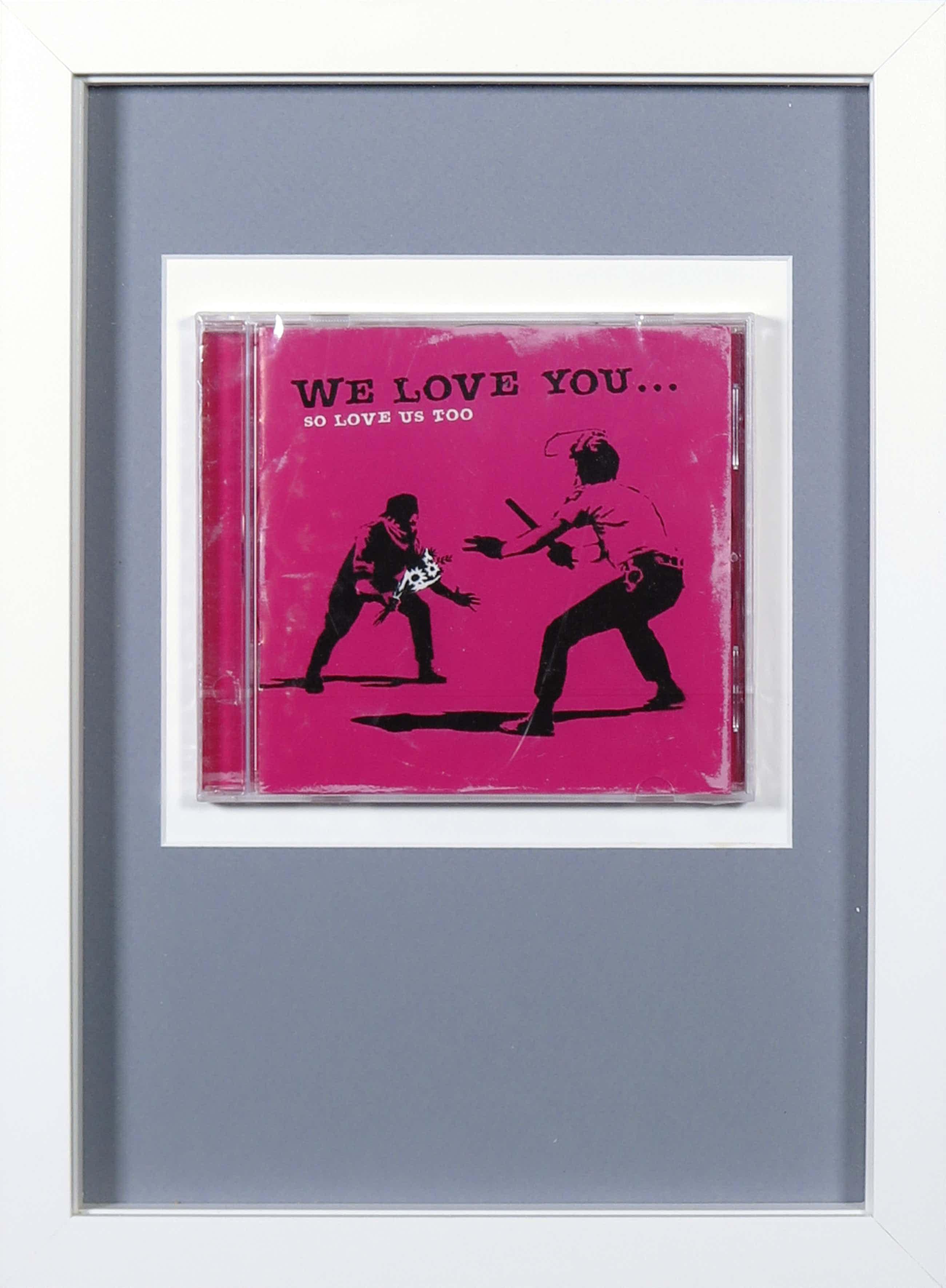 Banksy - We love you... so love us too (CD) - Ingelijst kopen? Bied vanaf 106!