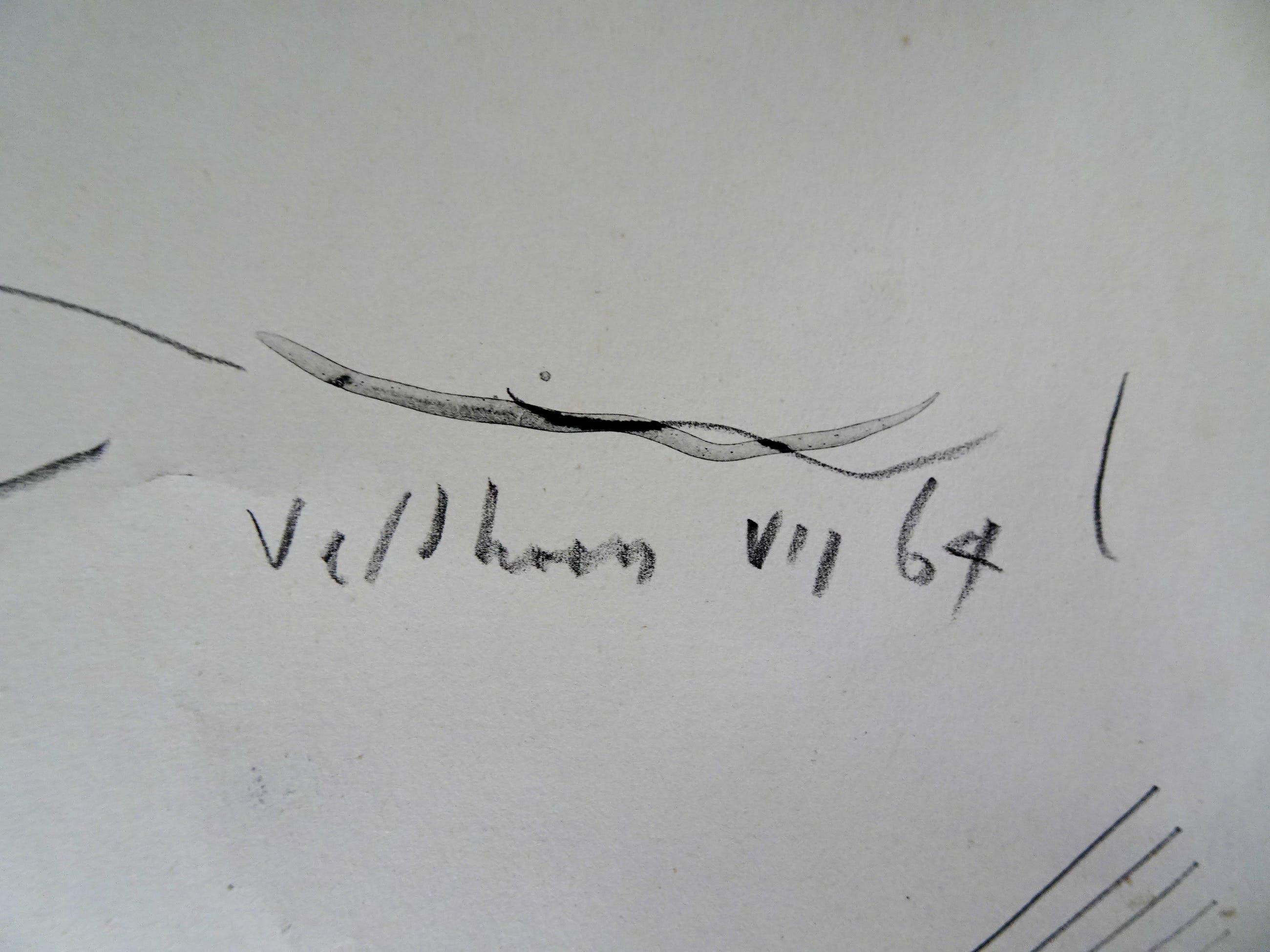 Aat Veldhoen - Zittend naakt kopen? Bied vanaf 30!