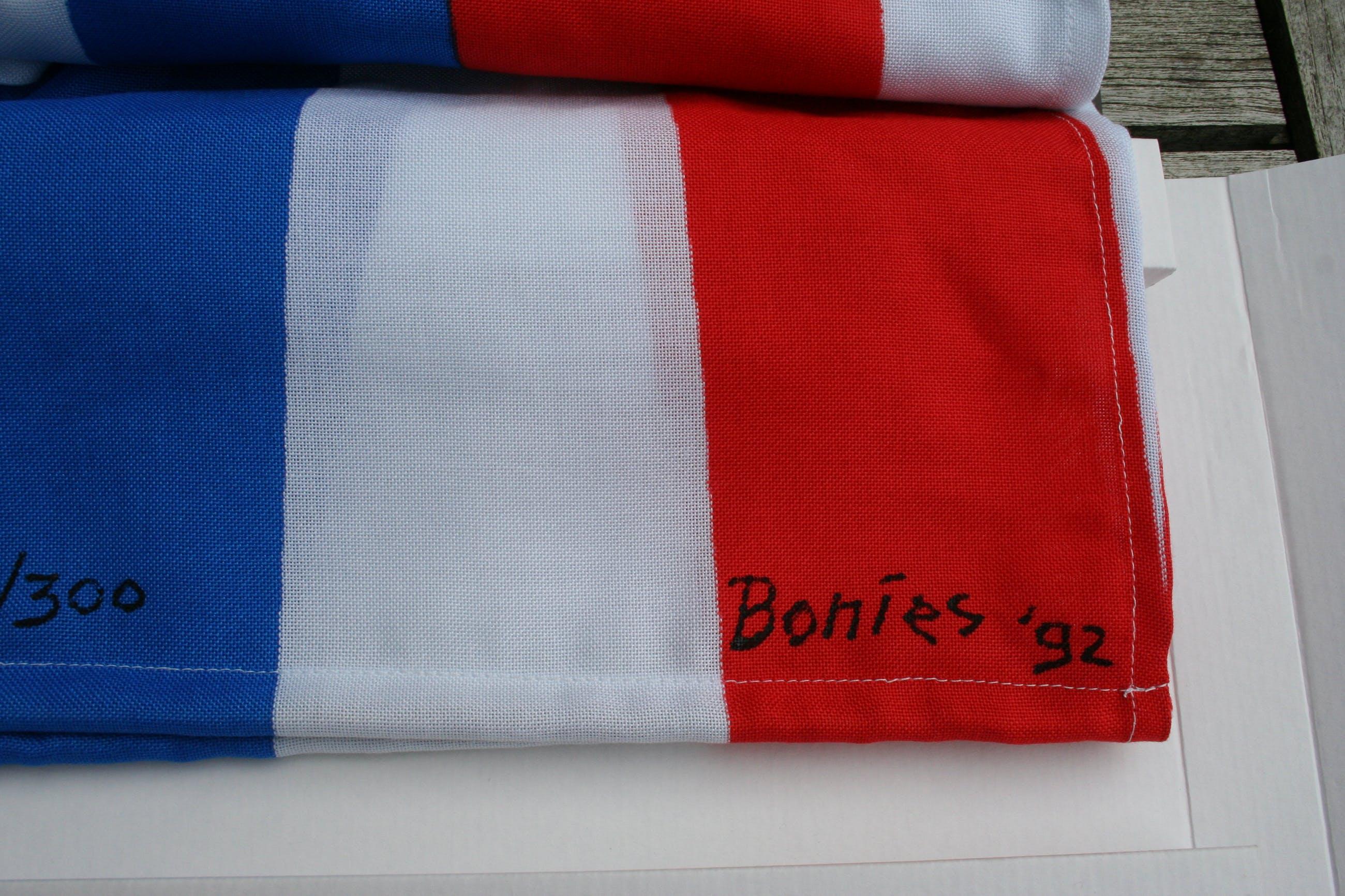 Bob Bonies - Vaandel kopen? Bied vanaf 25!