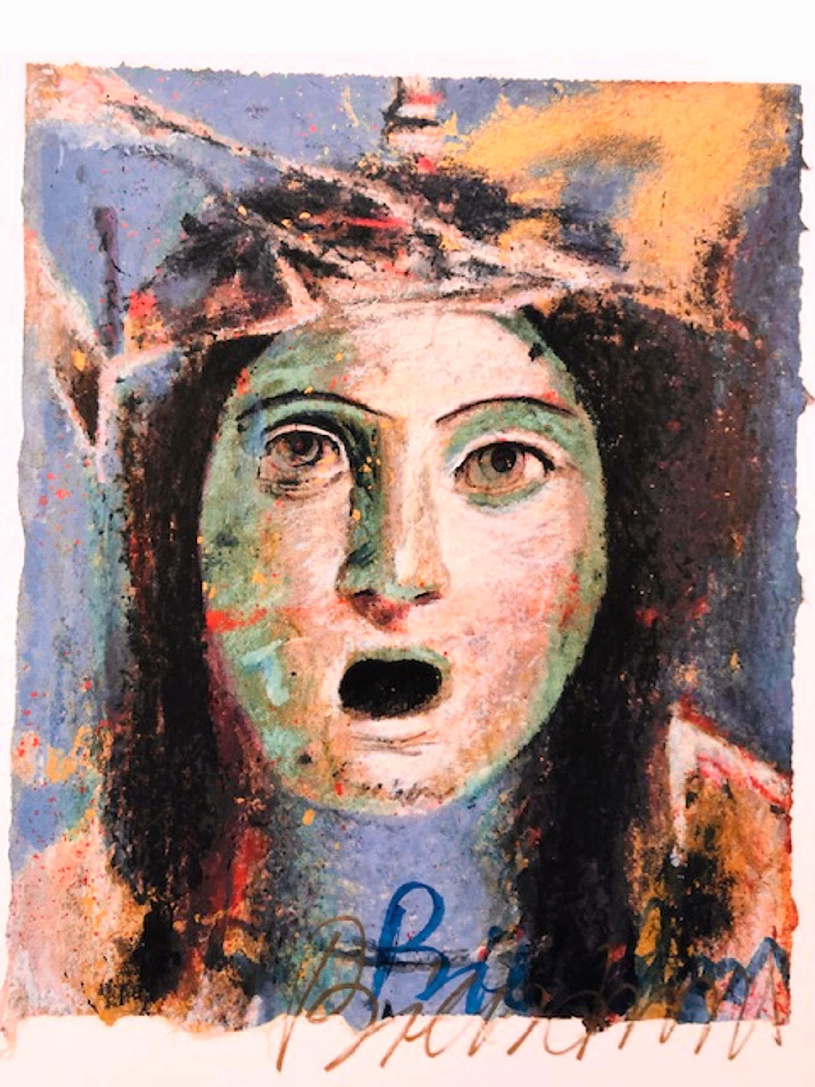 Gerti Bierenbroodspot - portret 'her' kopen? Bied vanaf 85!