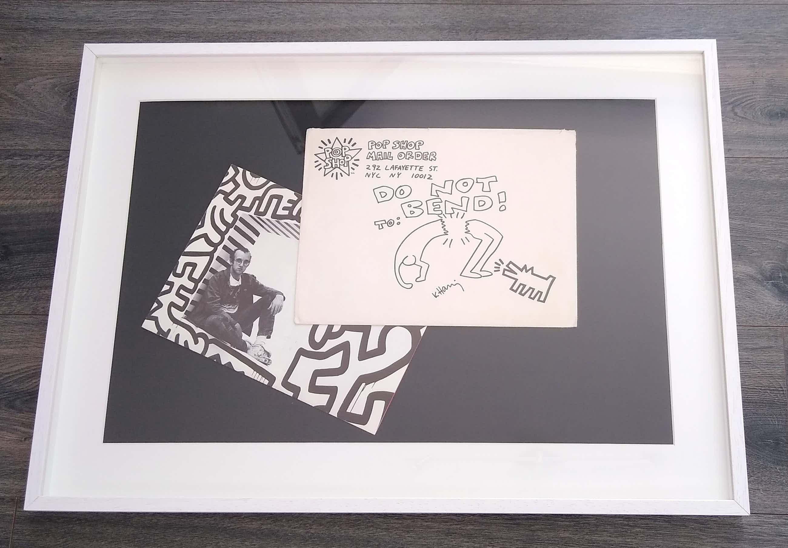 Keith Haring - Do not bend! kopen? Bied vanaf 2000!