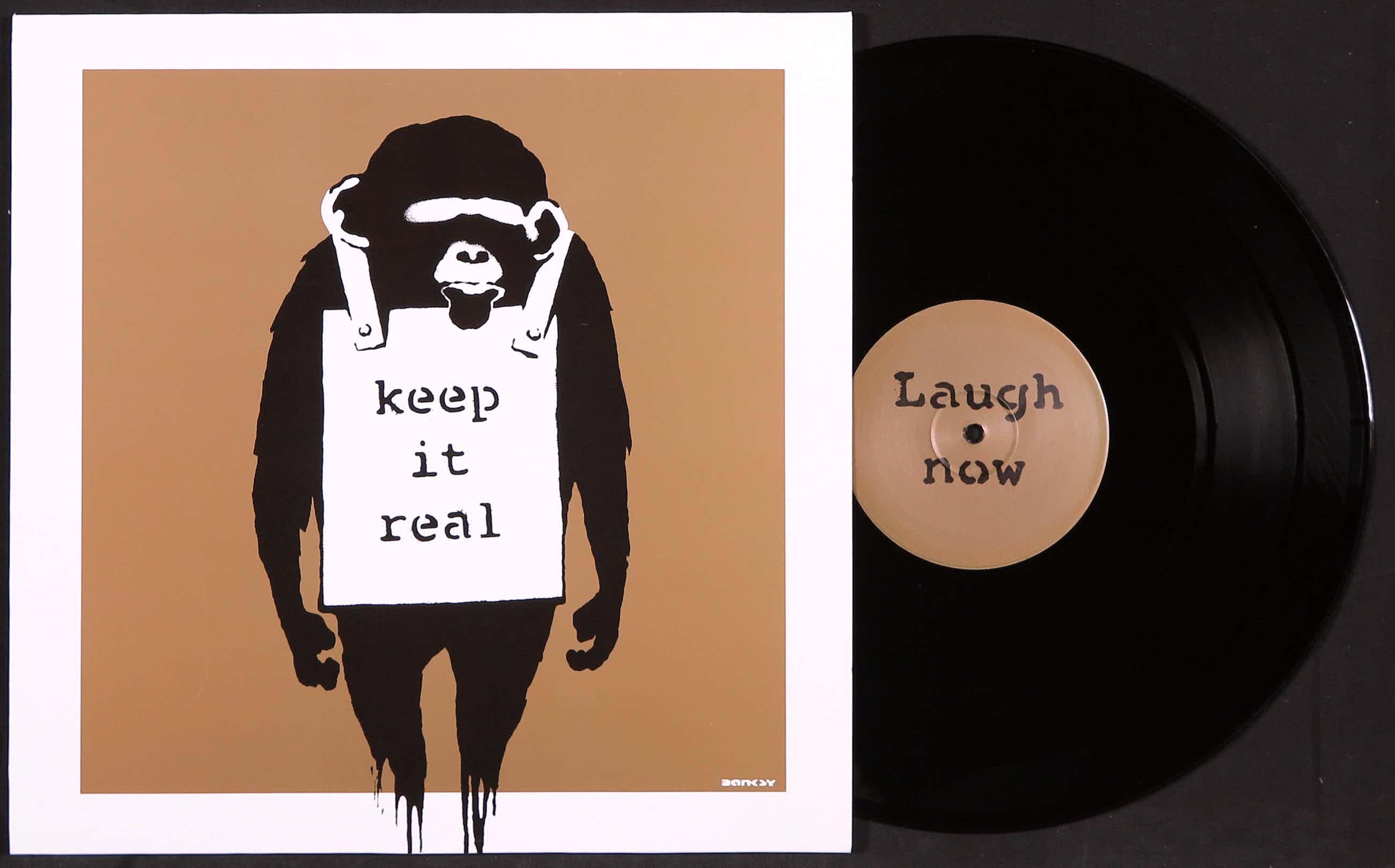 Banksy - DJ DM – Laugh Now EP - Gouden hoes kopen? Bied vanaf 1310!