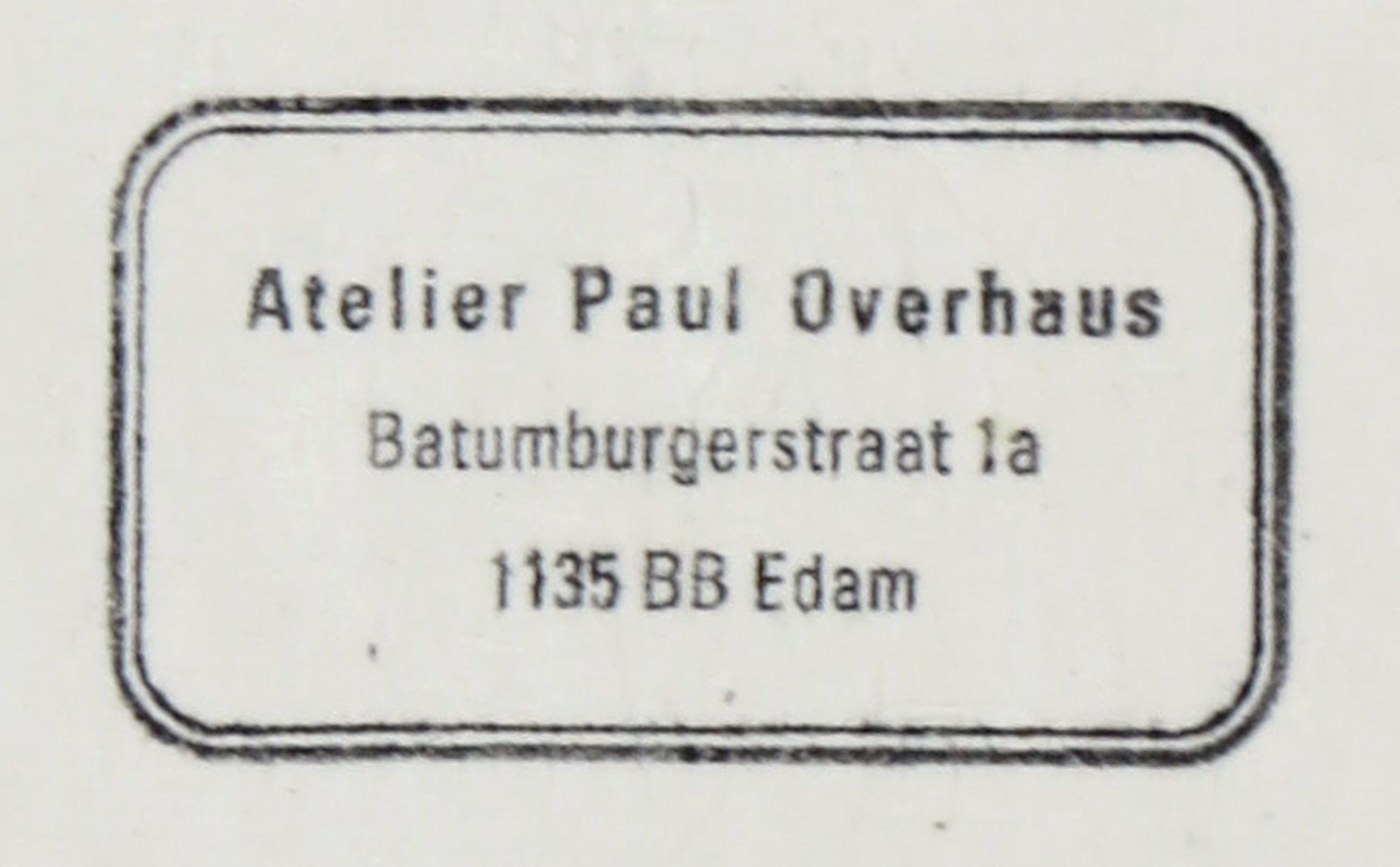 Paul Overhaus - Houtsnede, Lot van drie wolkenluchten kopen? Bied vanaf 1!