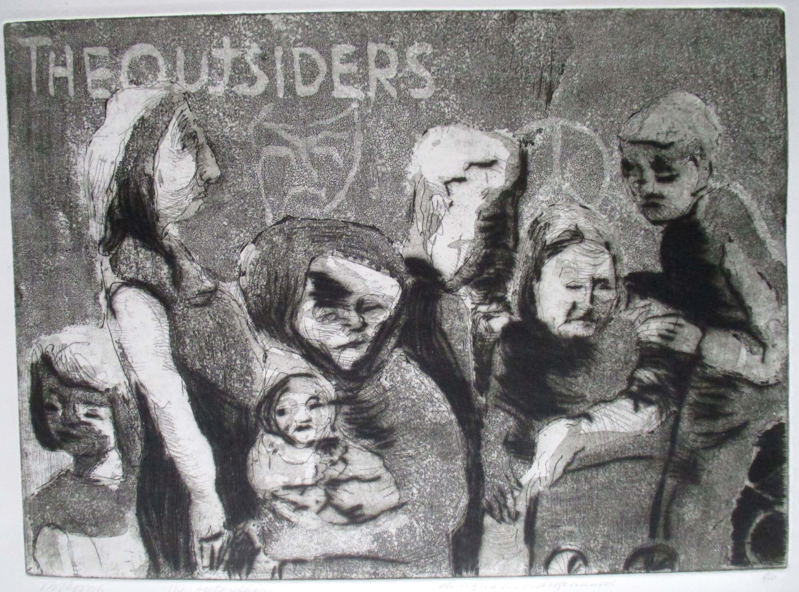 Theo Ros - Ets The Outsiders kleine oplage kopen? Bied vanaf 30!