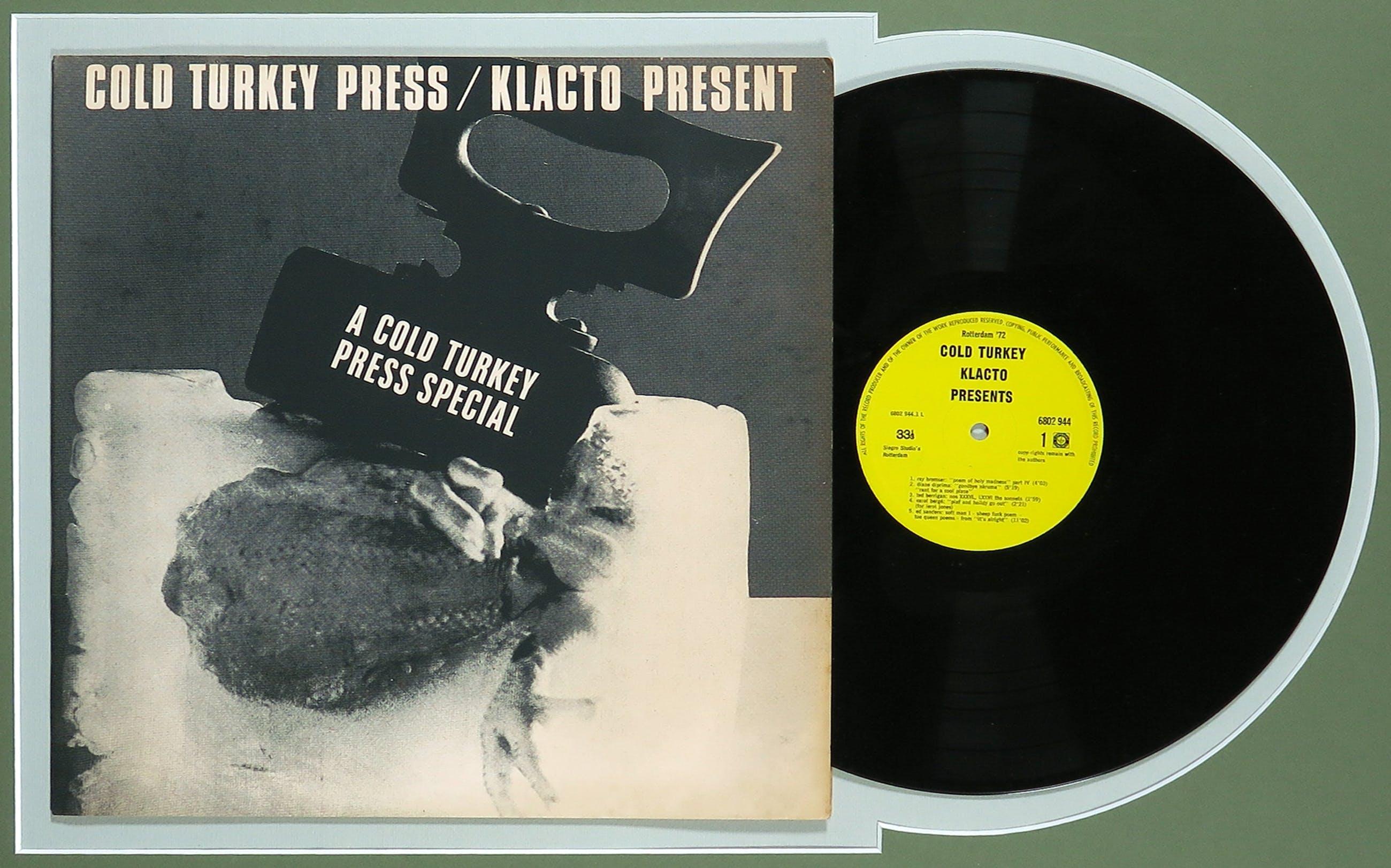 Various artists - Cold Turkey Press / Klacto Present - Ingelijst kopen? Bied vanaf 1!