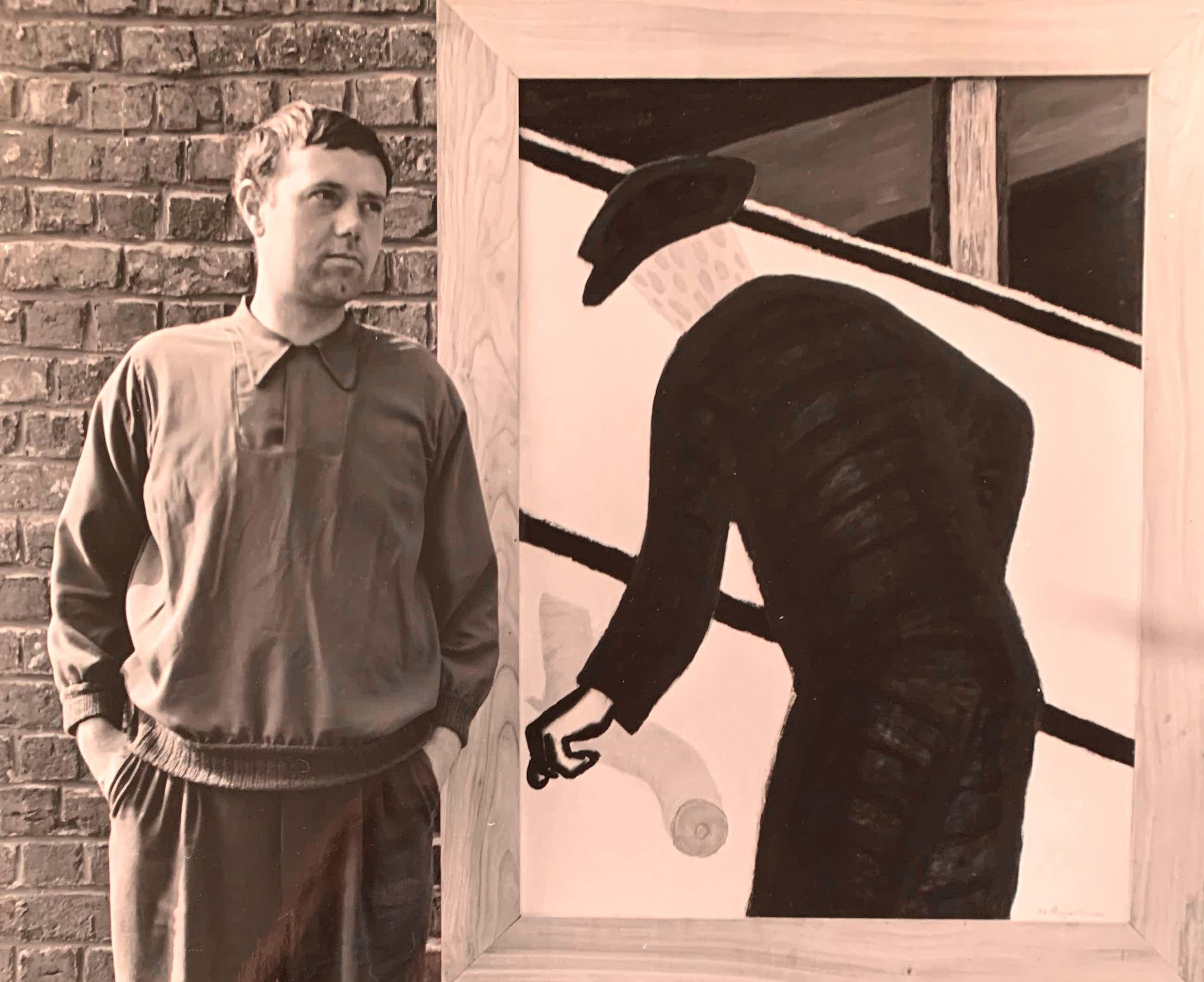 Henny Riemens - Roger Raveel voor zijn schilderij kopen? Bied vanaf 120!