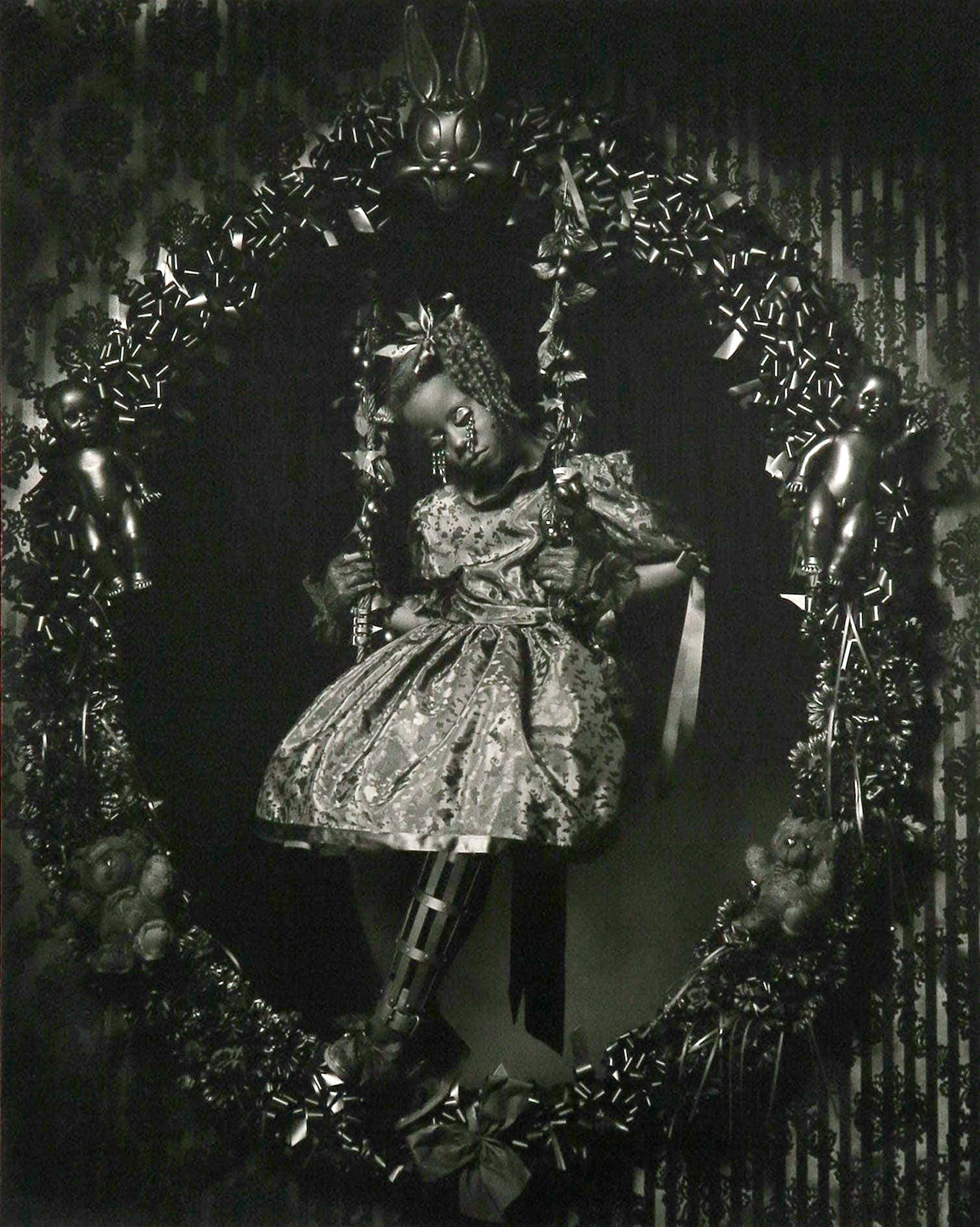 Erwin Olaf - C-Print, Esmeralda, uit de serie 'Blacks' kopen? Bied vanaf 400!