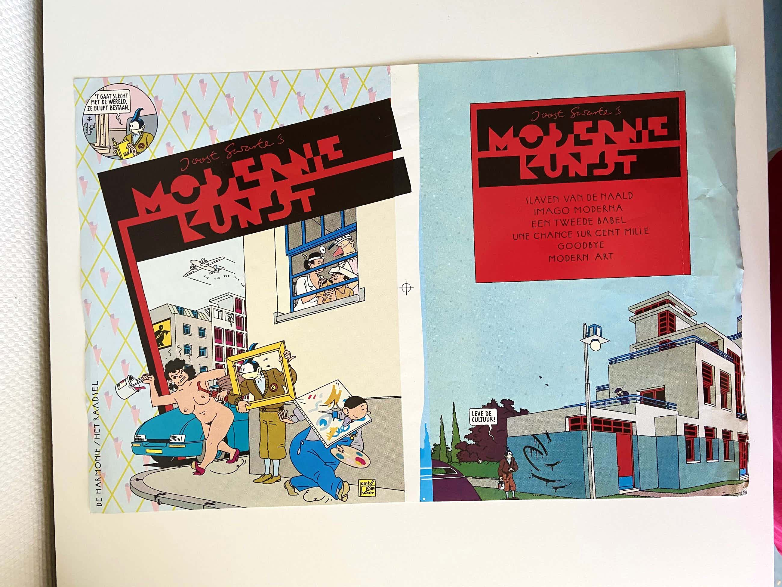 Joost Swarte - 6 verschillende werken van Swarte , zie omschrijving kopen? Bied vanaf 40!