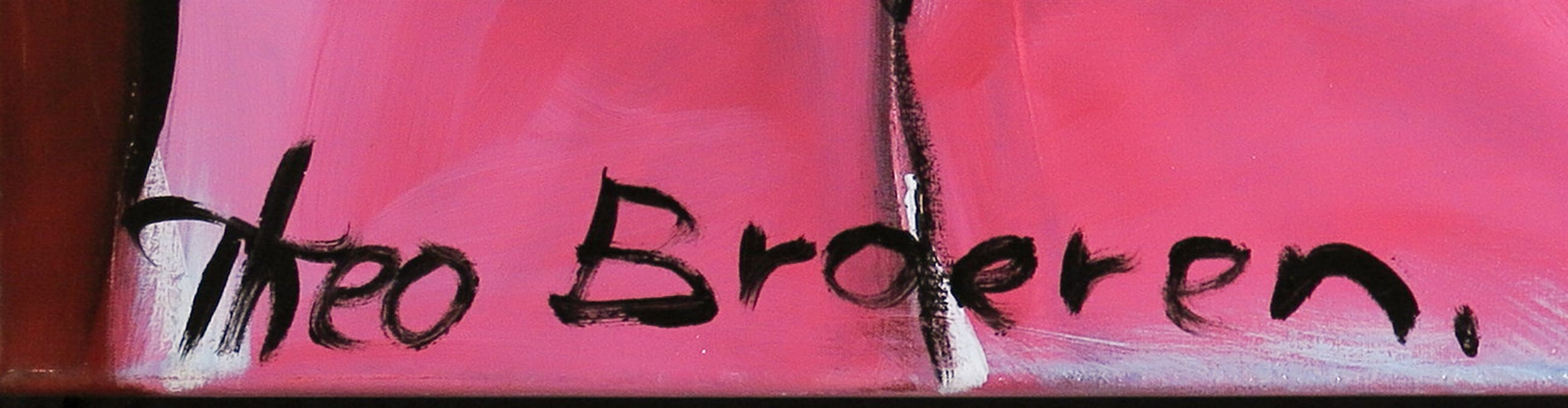 Theo Broeren - Acryl op doek, The violin (Zeer groot) kopen? Bied vanaf 100!