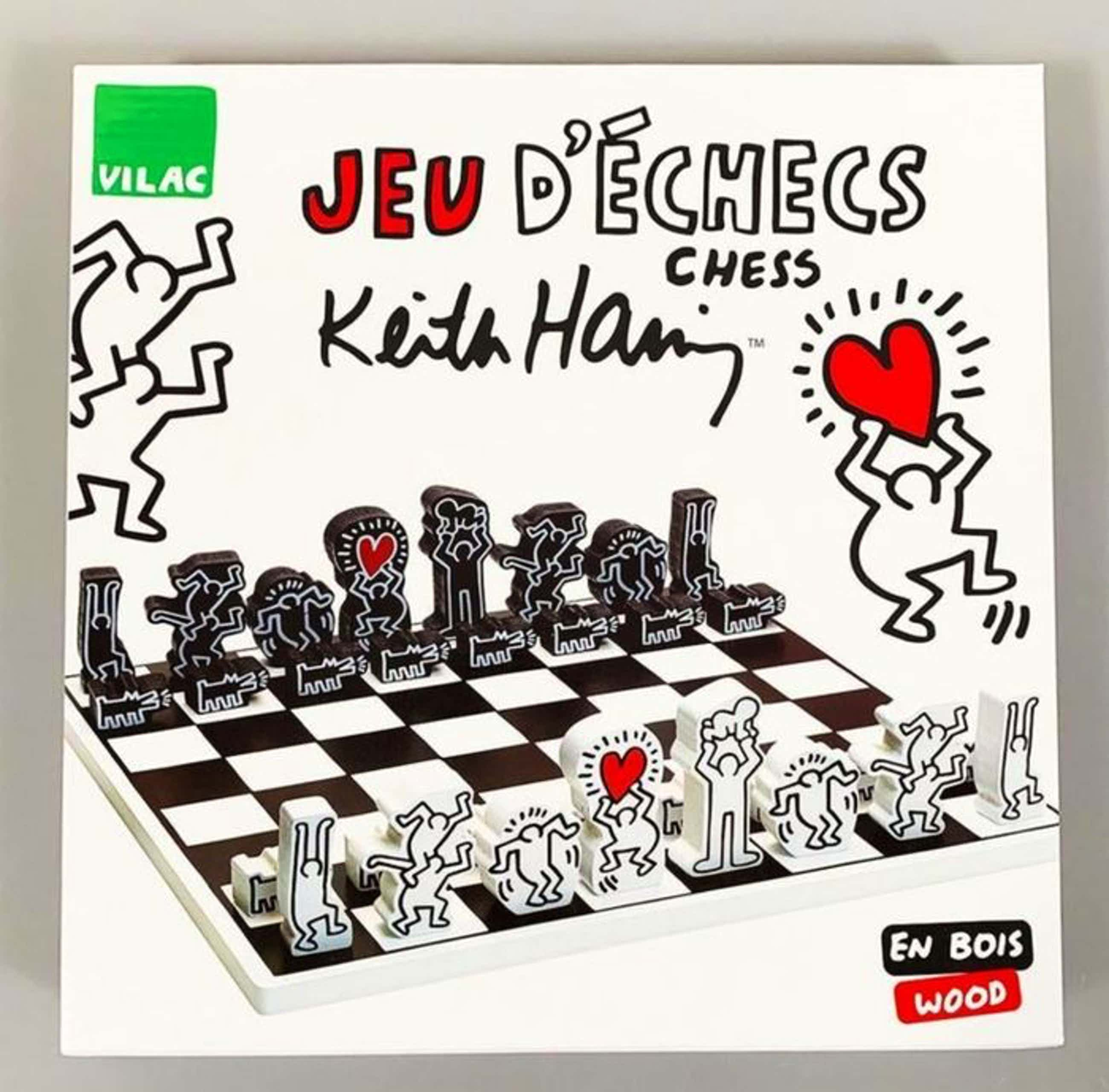 Keith Haring - schaakspel / chess set kopen? Bied vanaf 80!