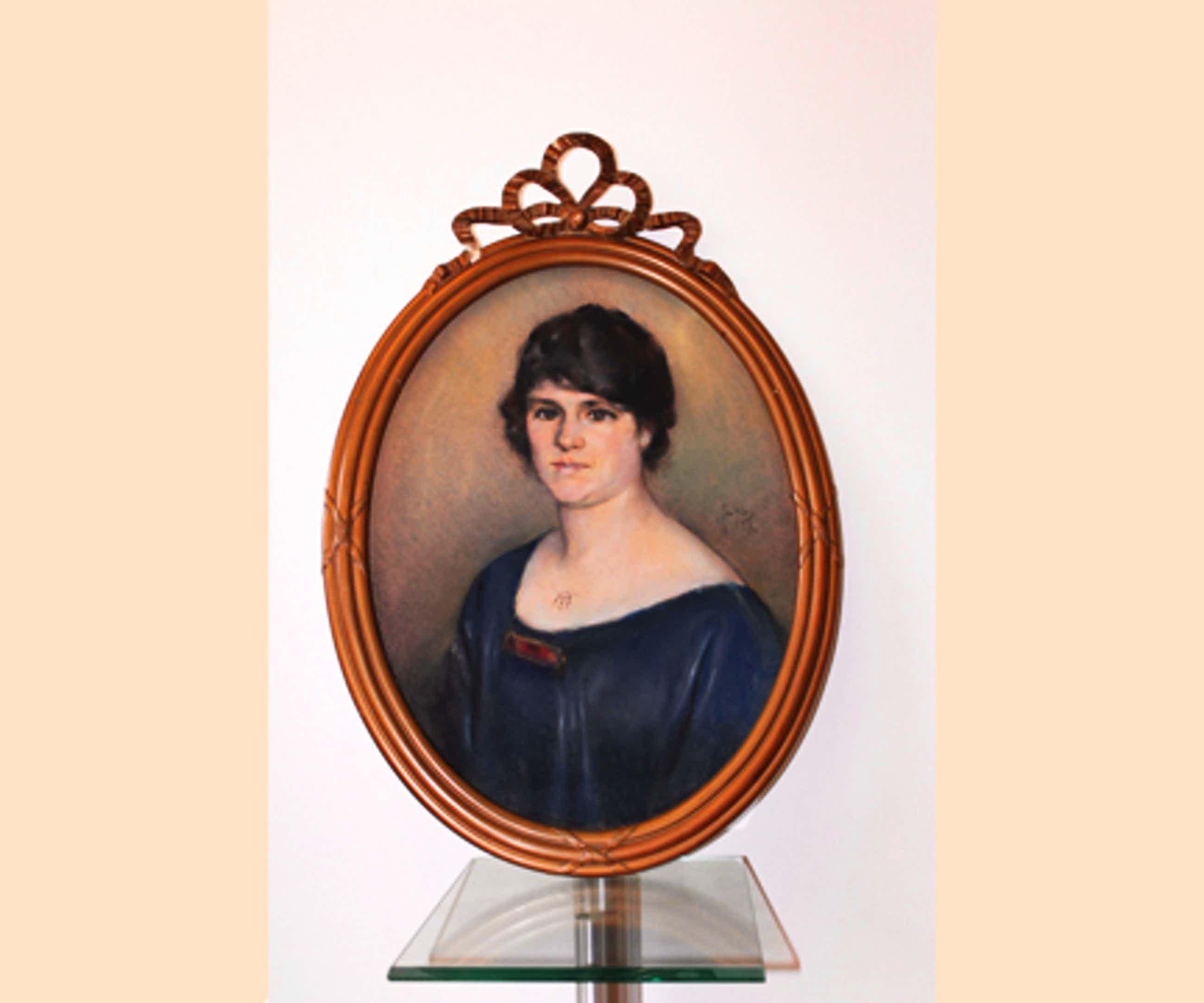 Jan Bleys - Portret van een Dame - Pastel op board (1920) kopen? Bied vanaf 85!