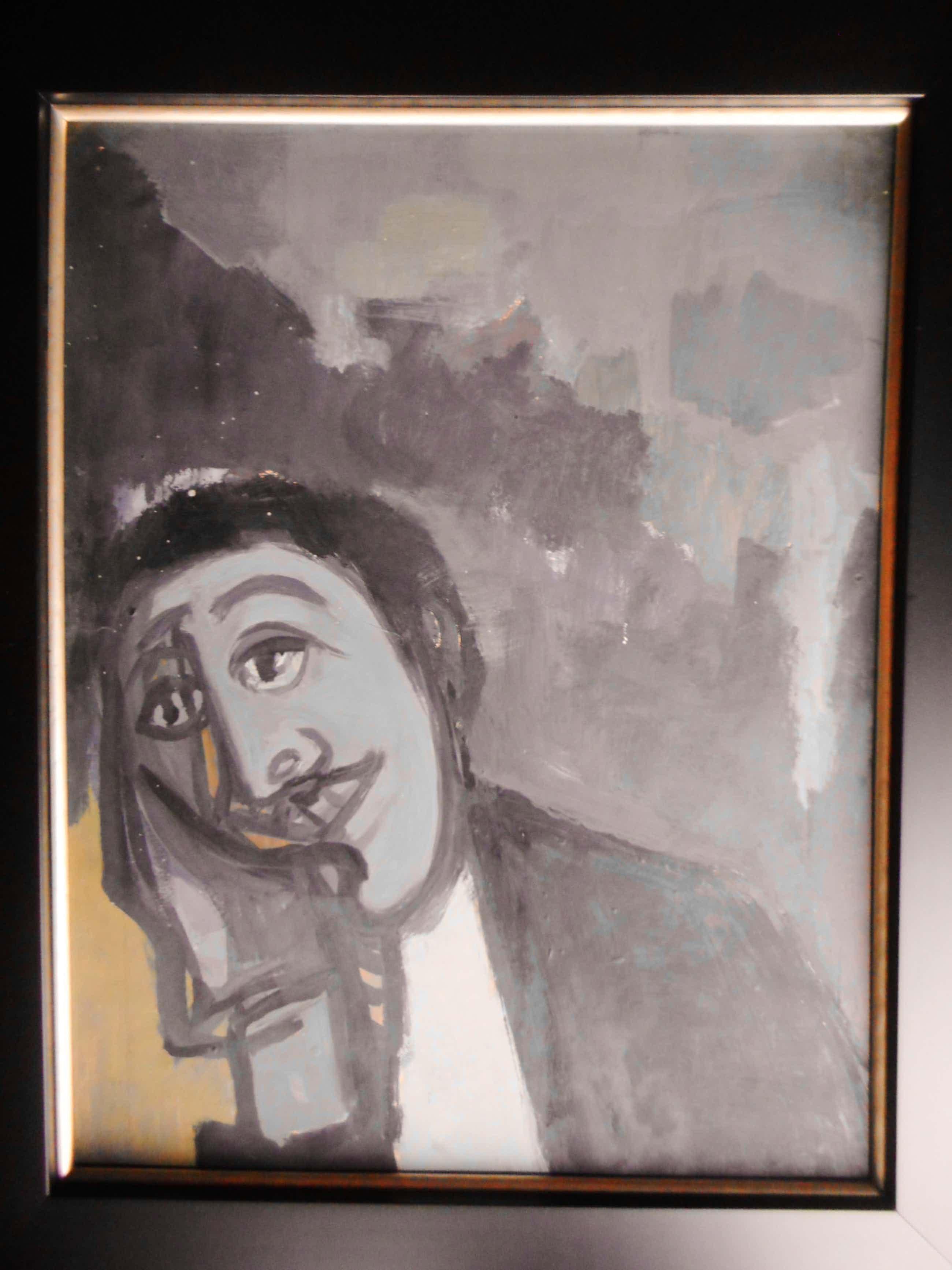 Metten Koornstra - Portret van een leunende man kopen? Bied vanaf 100!