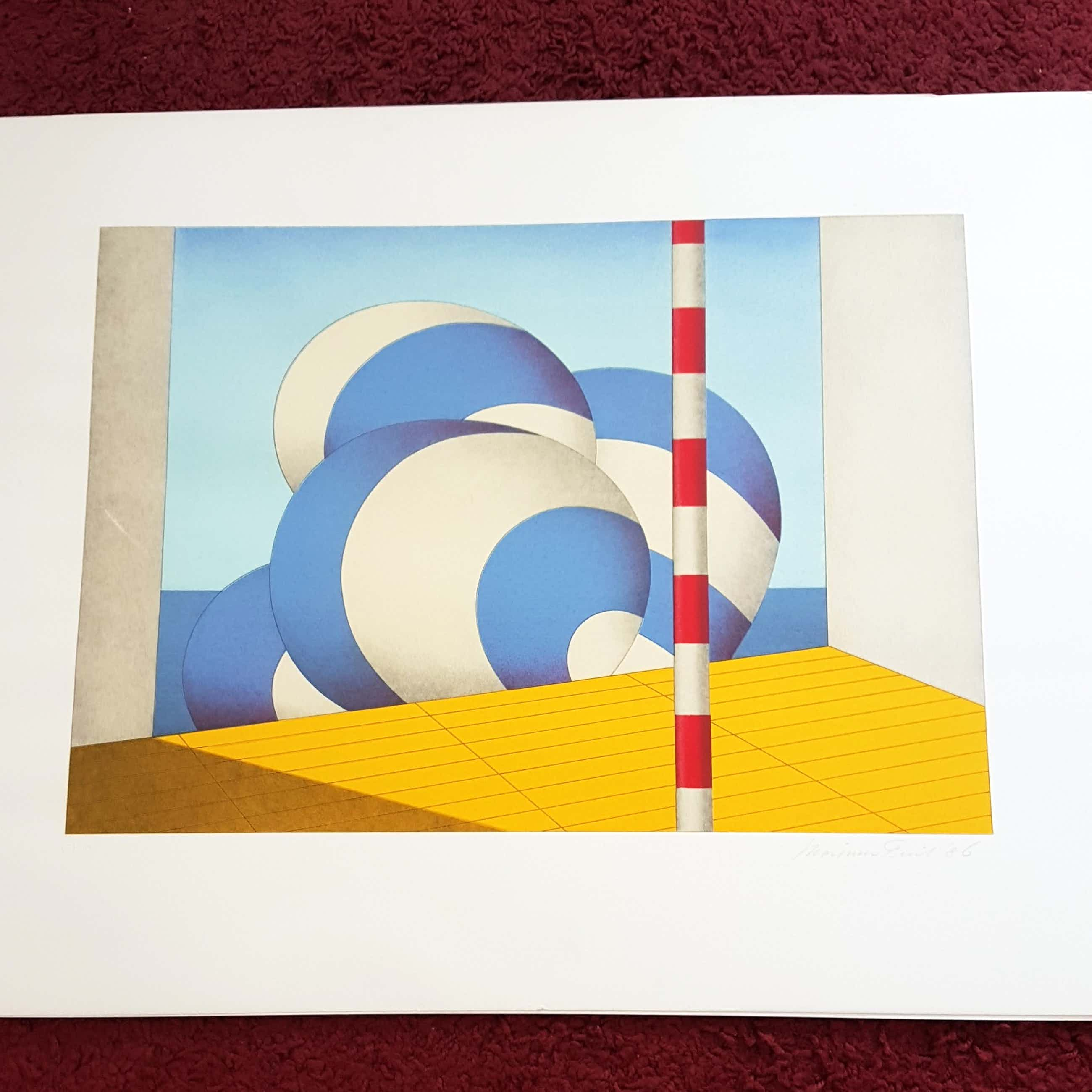 Marinus Fuit - Abstract  kopen? Bied vanaf 40!