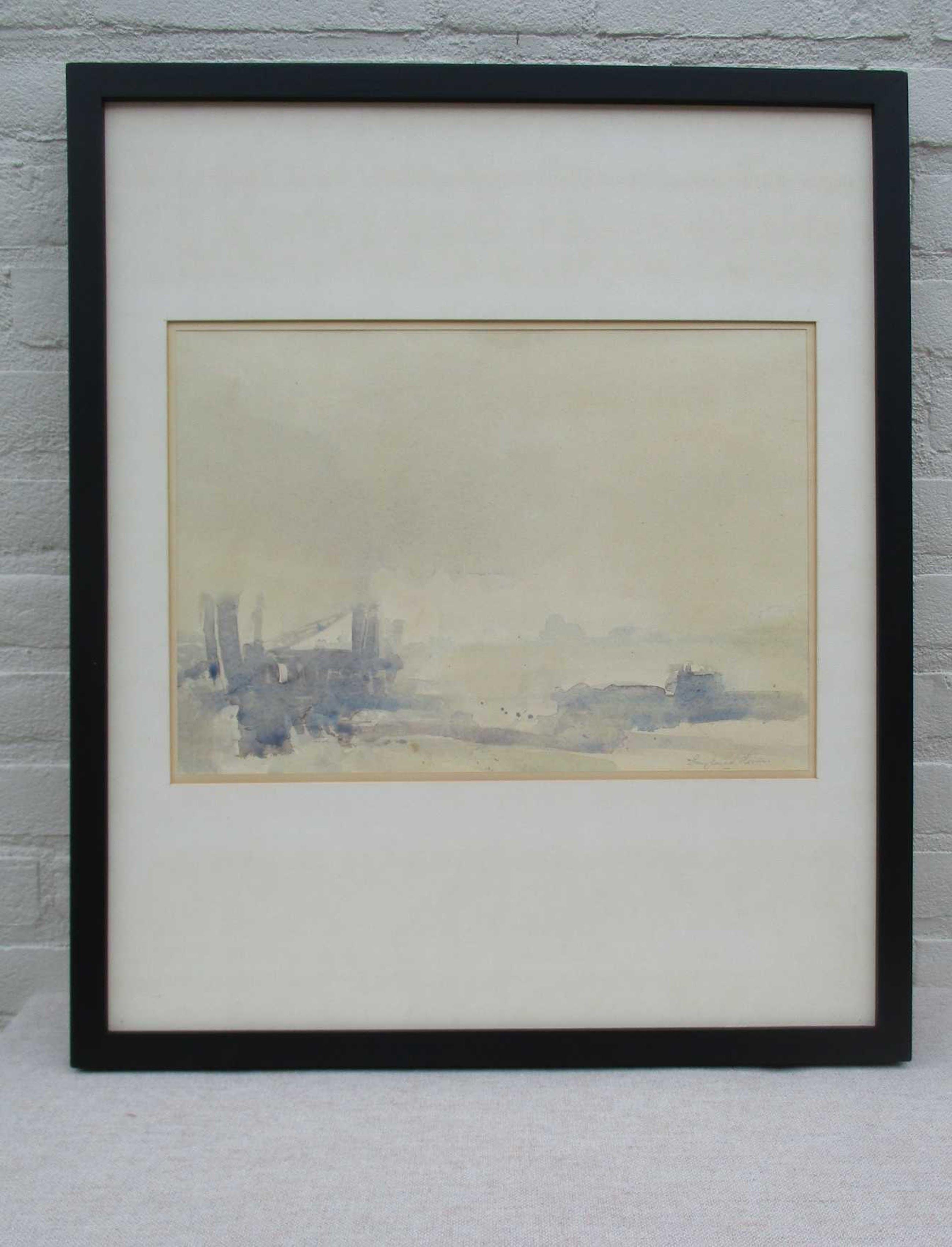 Frans van der Heide - Gezicht op Veere vanaf steiger Kapelle kopen? Bied vanaf 65!