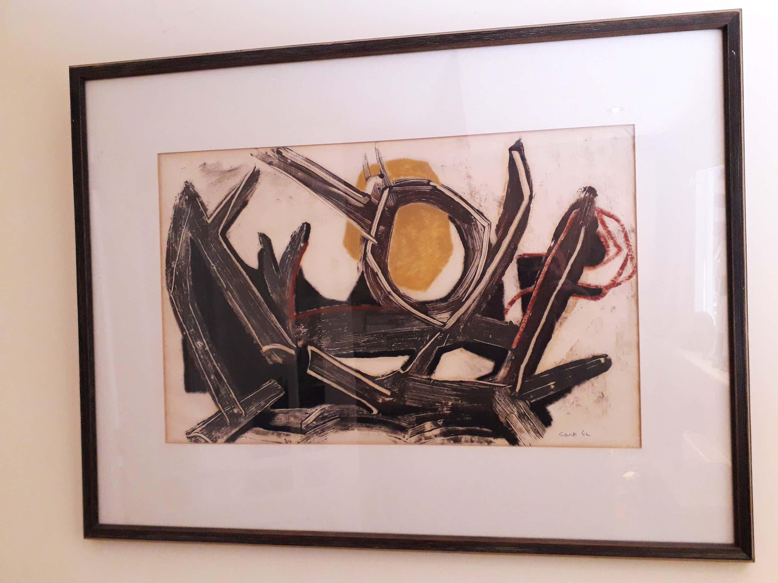 """Jaap de Carpentier - abstract werk, """"Landschappelijk"""" kopen? Bied vanaf 160!"""