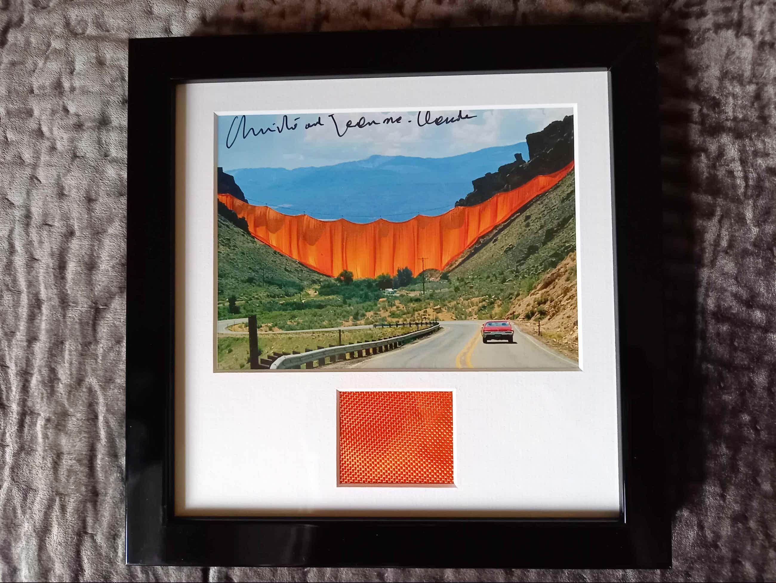 Christo - & Jeanne Claude Valley Curtain, Rifle Colorado 1970 -72 kopen? Bied vanaf 129!