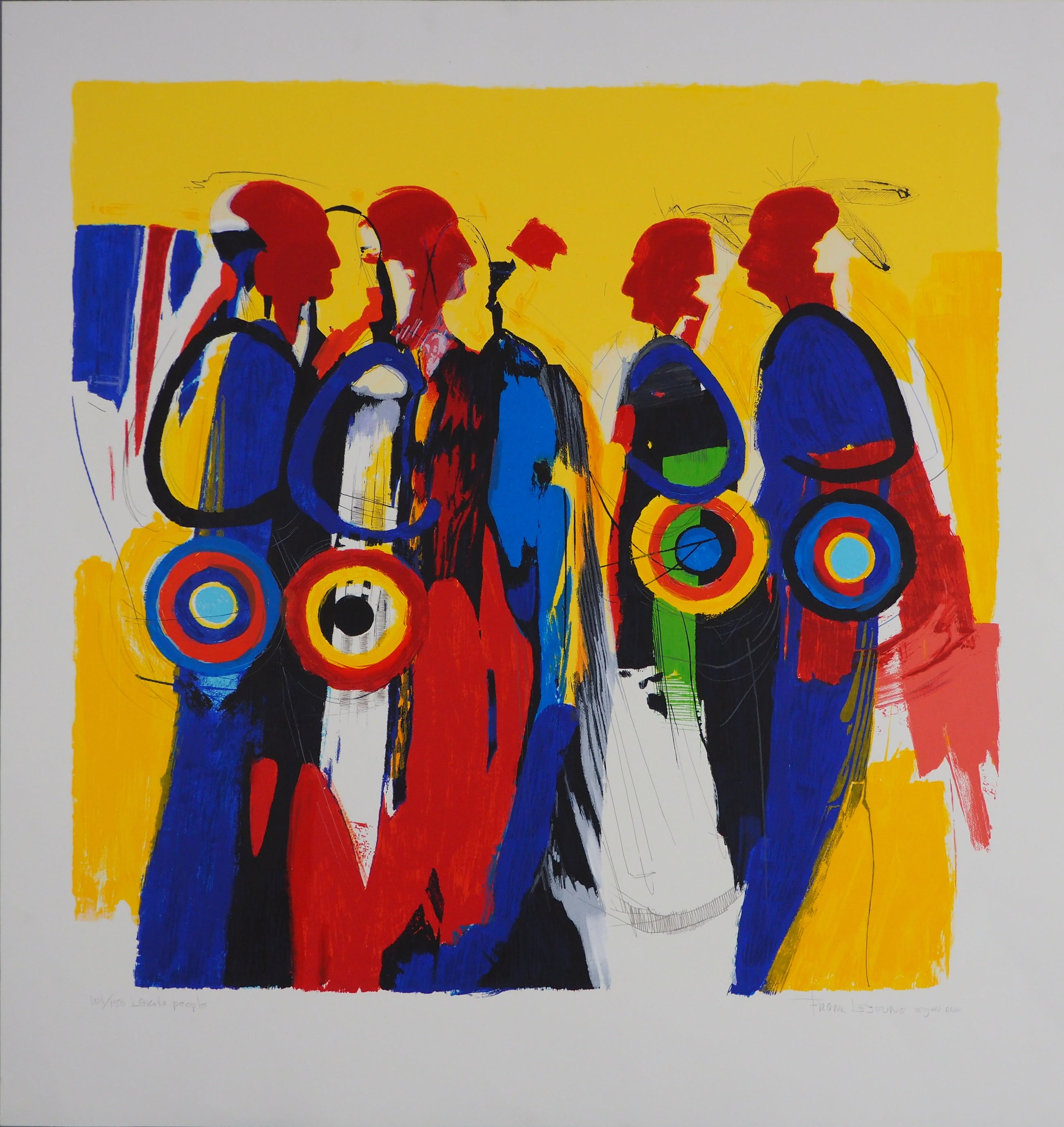 Frank Lejeune - Lakota People kopen? Bied vanaf 50!