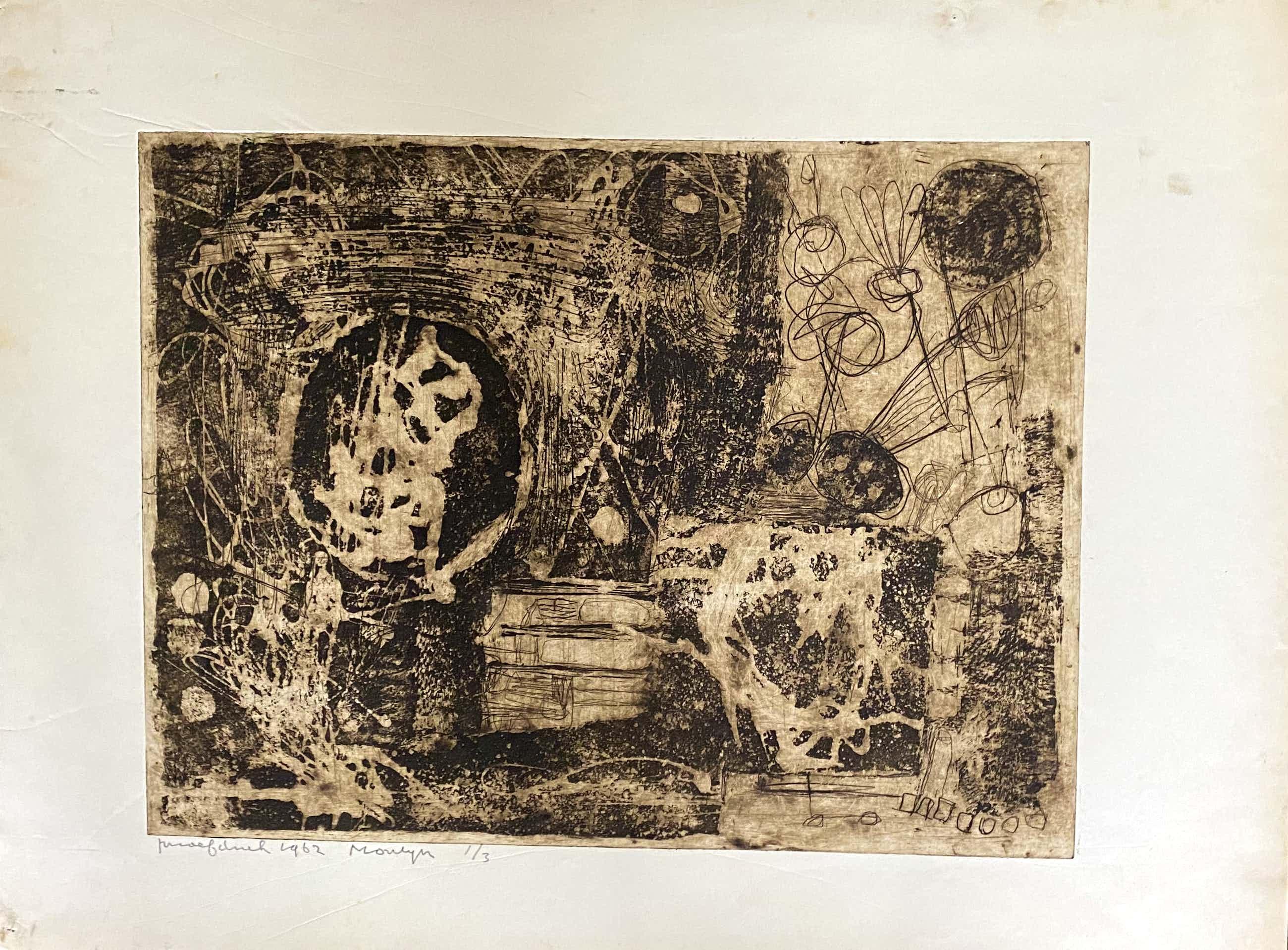 Jan Montyn - Teken uit een tropisch woud kopen? Bied vanaf 110!