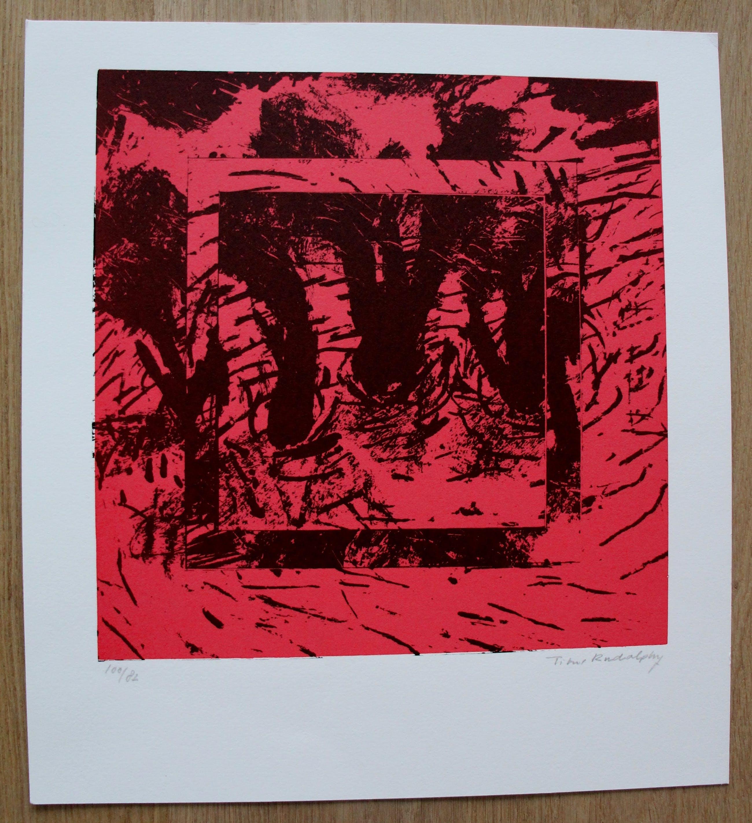 Titus Rudolphy - Zeefdruk - 1988 kopen? Bied vanaf 25!