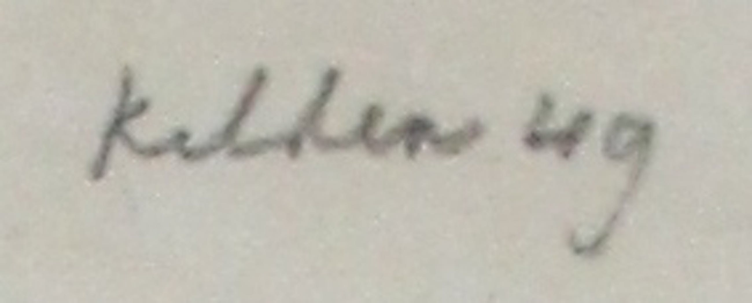 Toon Kelder - inkttekening - 1949 kopen? Bied vanaf 99!