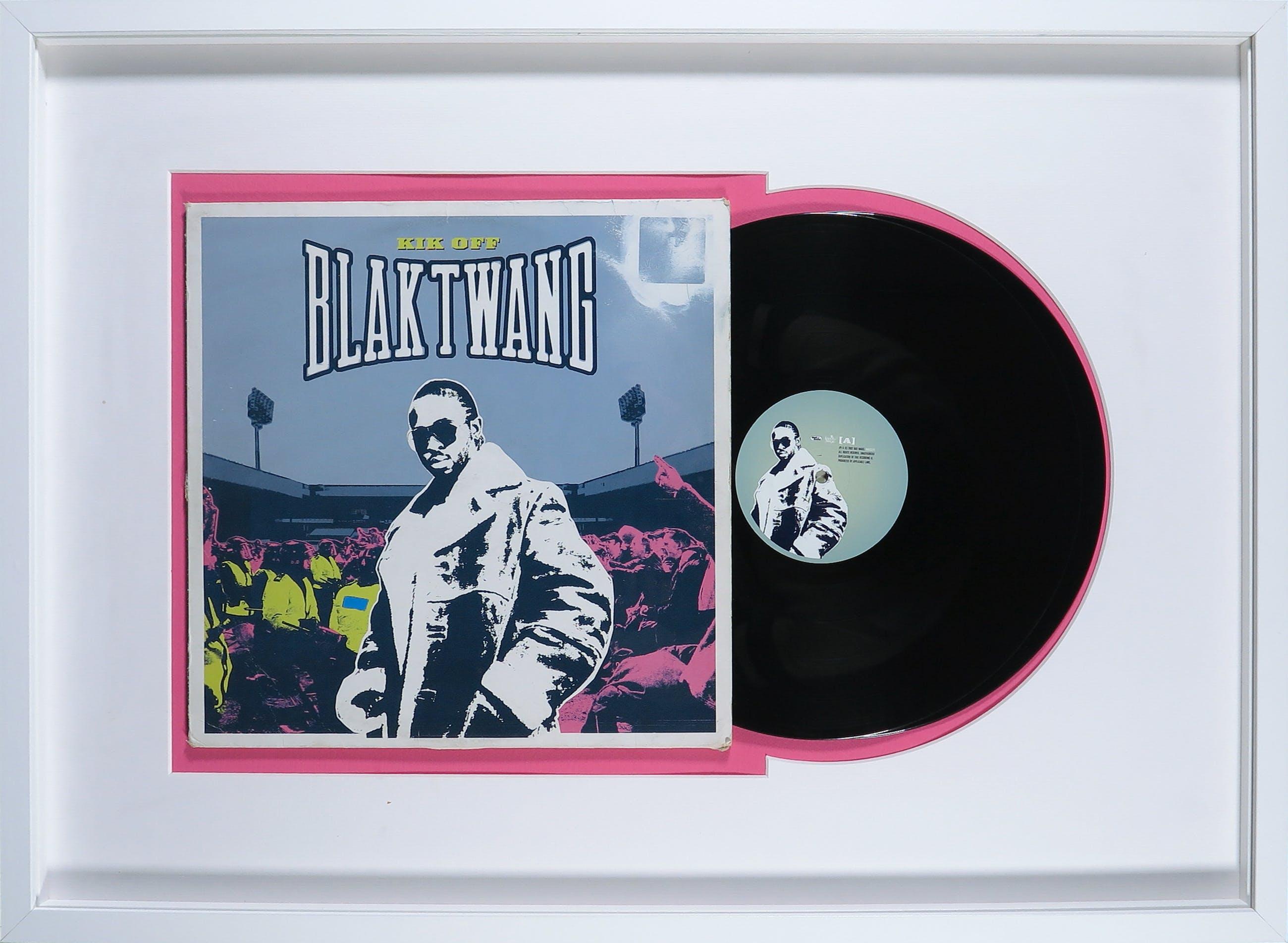 Banksy - Blaktwang: Kik Off - Ingelijst kopen? Bied vanaf 1!