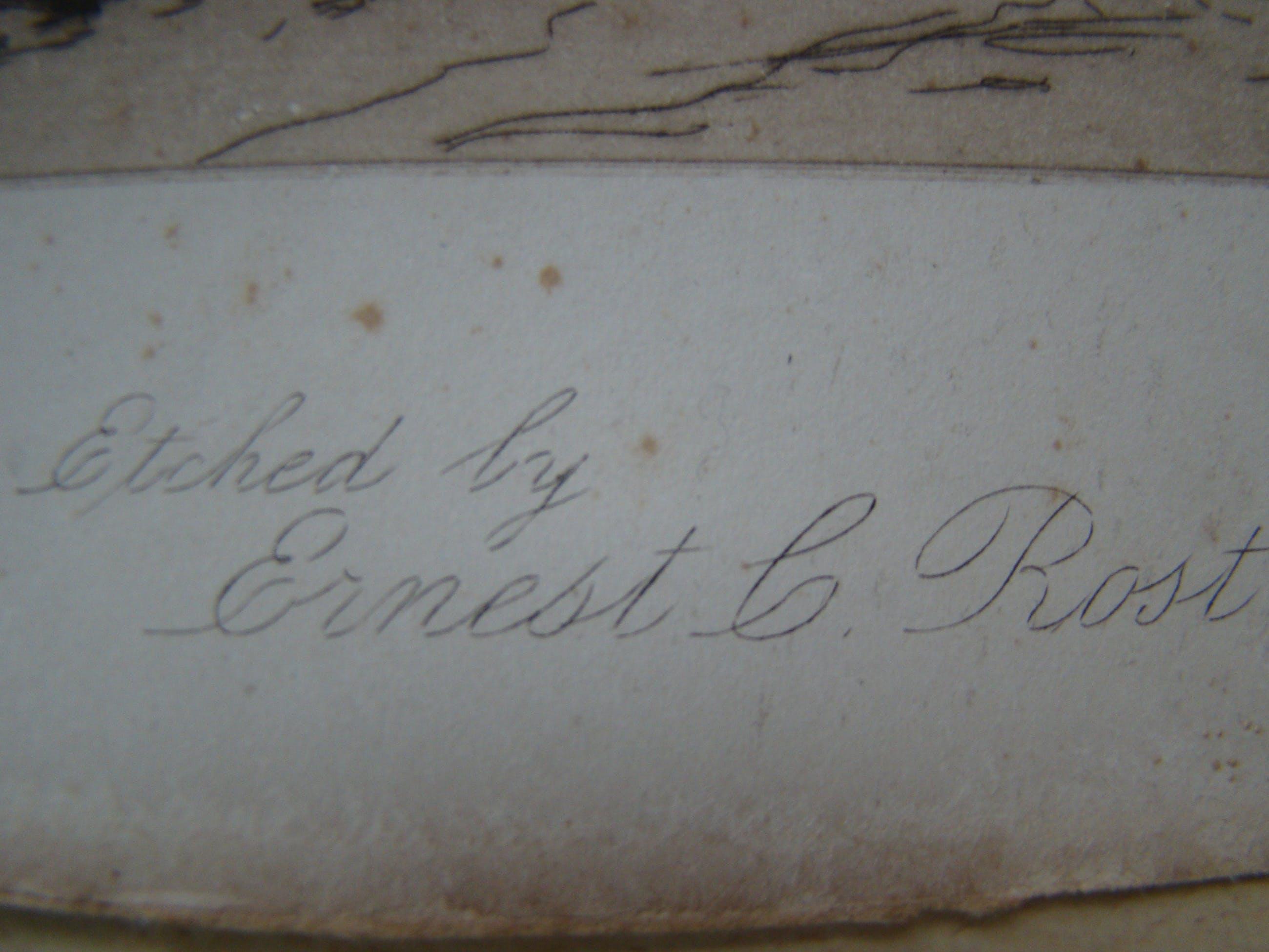 Ernest C. Rost - onbekend kopen? Bied vanaf 60!