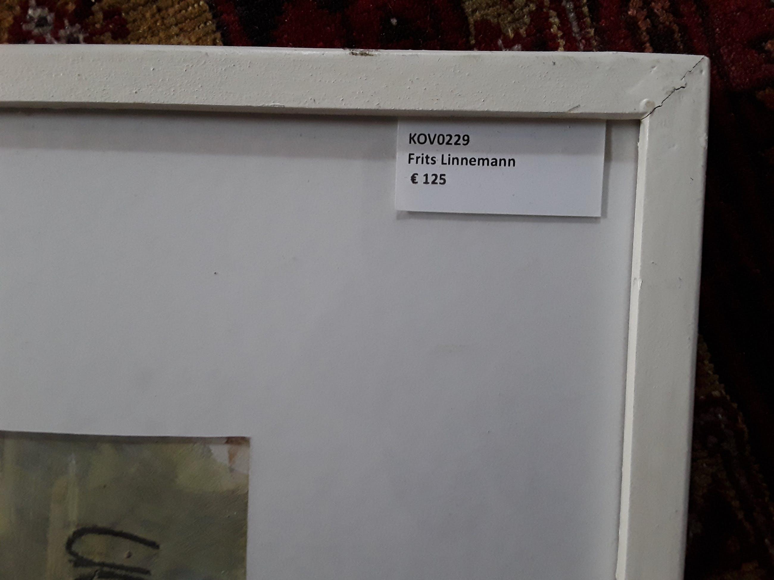 Frits Linnemann - Zonder titel kopen? Bied vanaf 15!