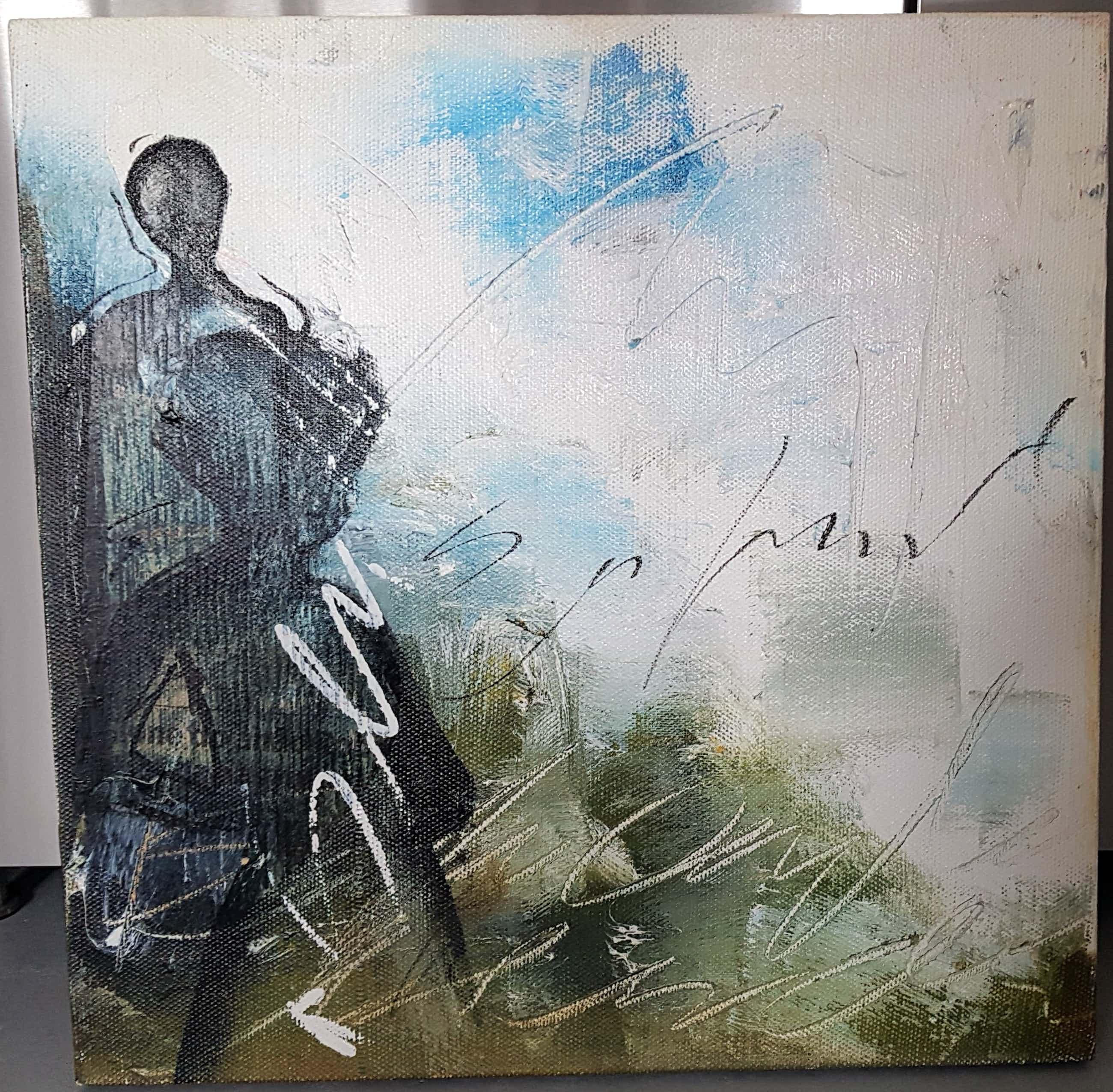Dario Bosa - Abstract Figuur. kopen? Bied vanaf 60!