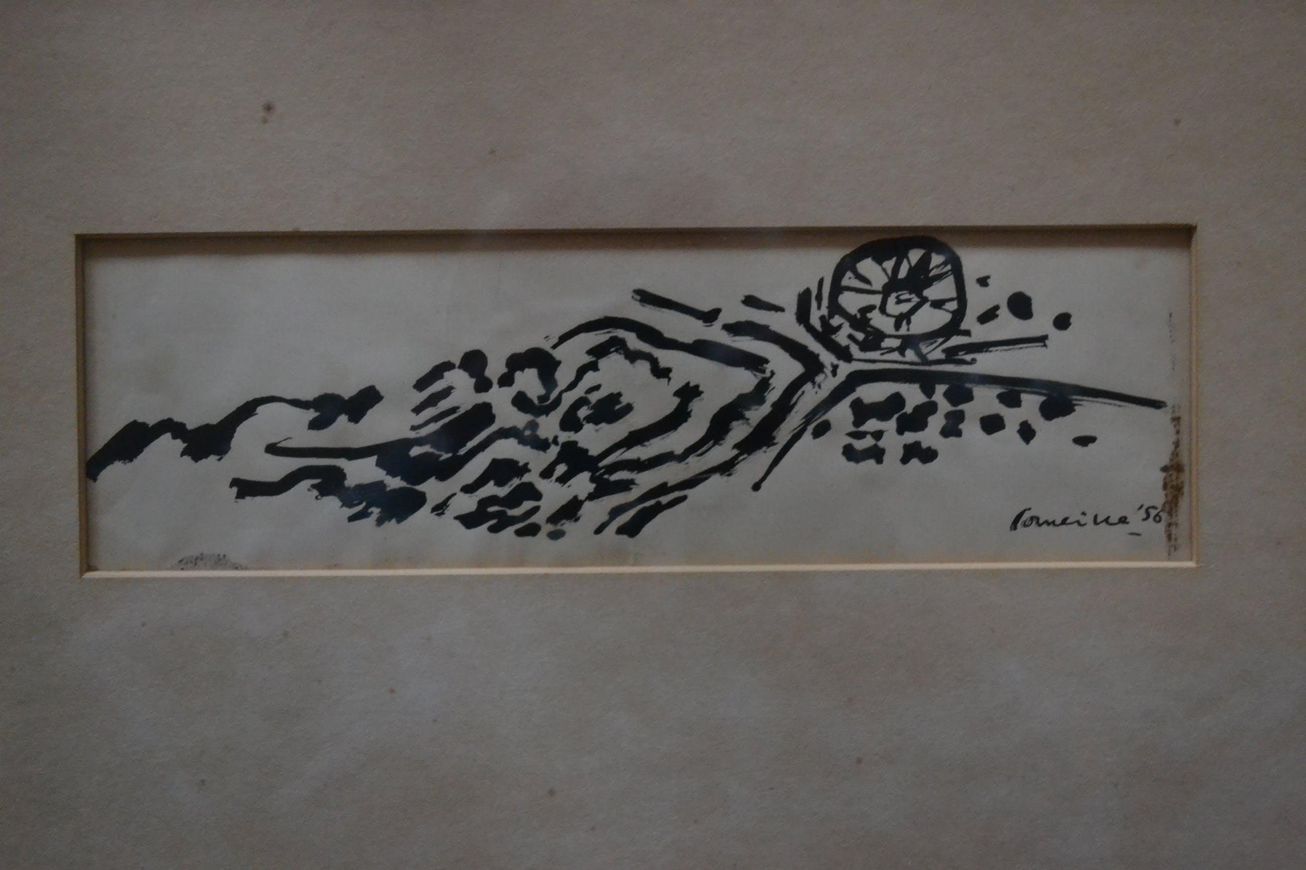 Corneille - Corneille : Inkttekening uit 1956 kopen? Bied vanaf 875!