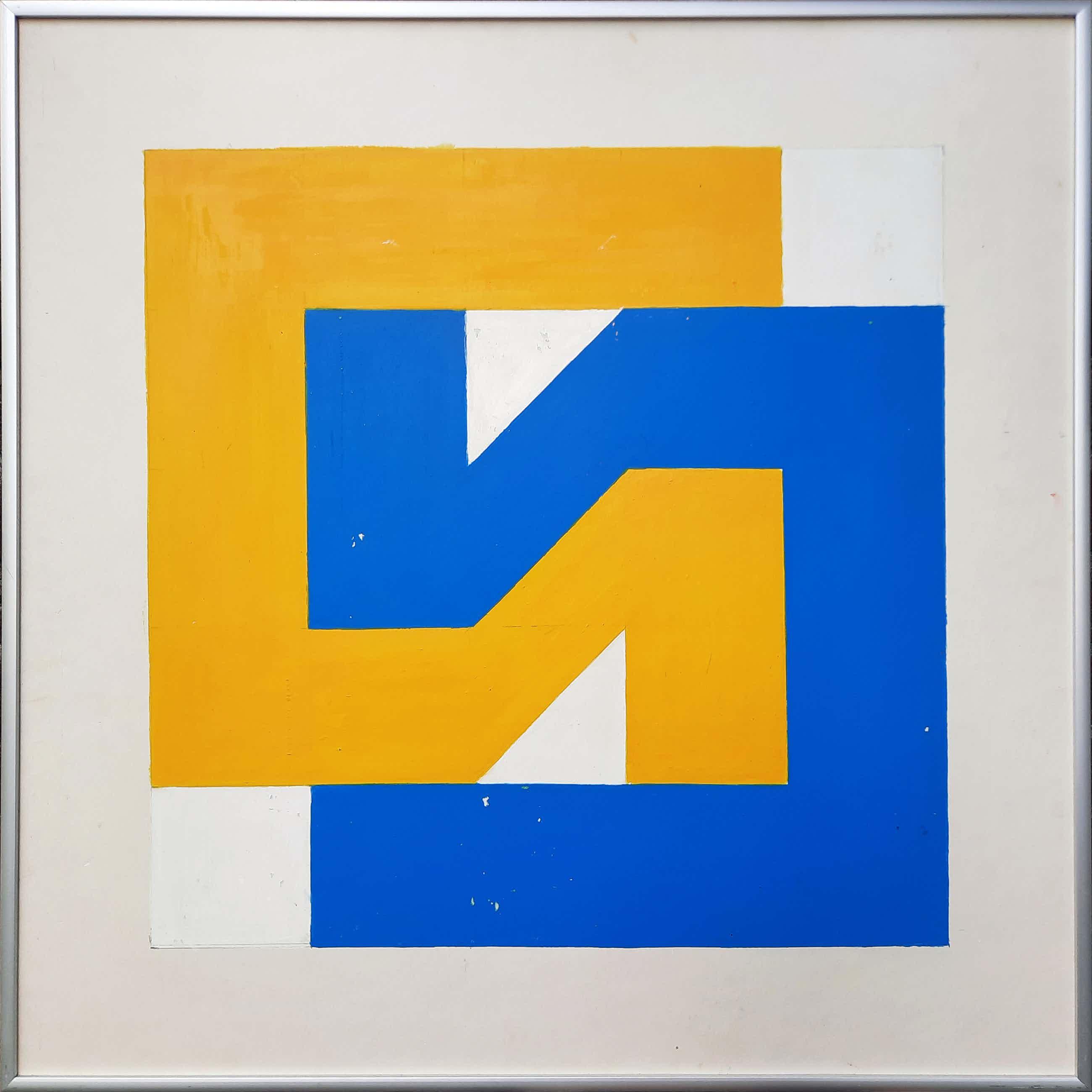 Georg Ruijter - Geometrische compositie [unicum] - 21940 kopen? Bied vanaf 265!
