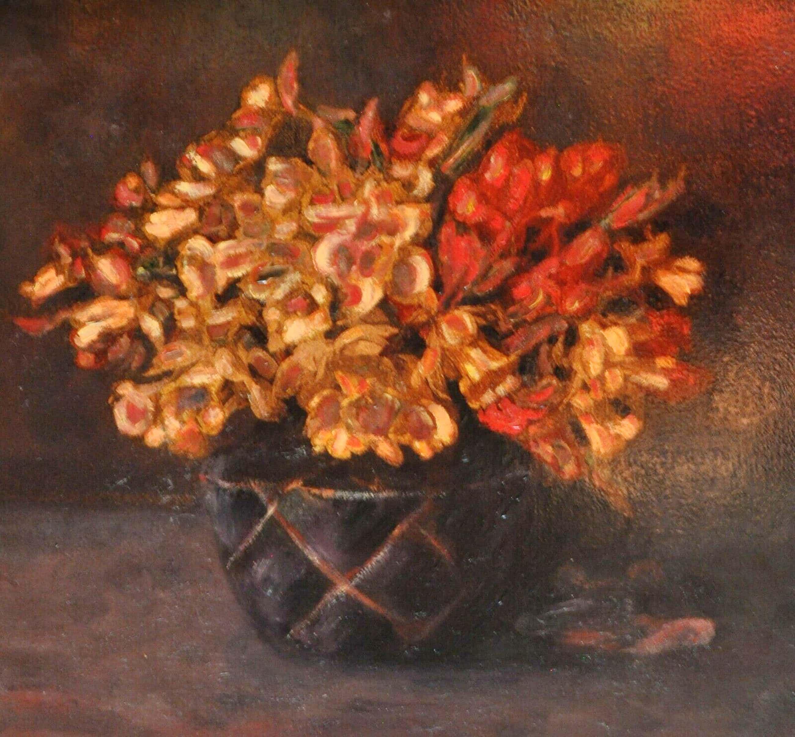 Arnout van Gilst - Stilleven met bloemen kopen? Bied vanaf 50!