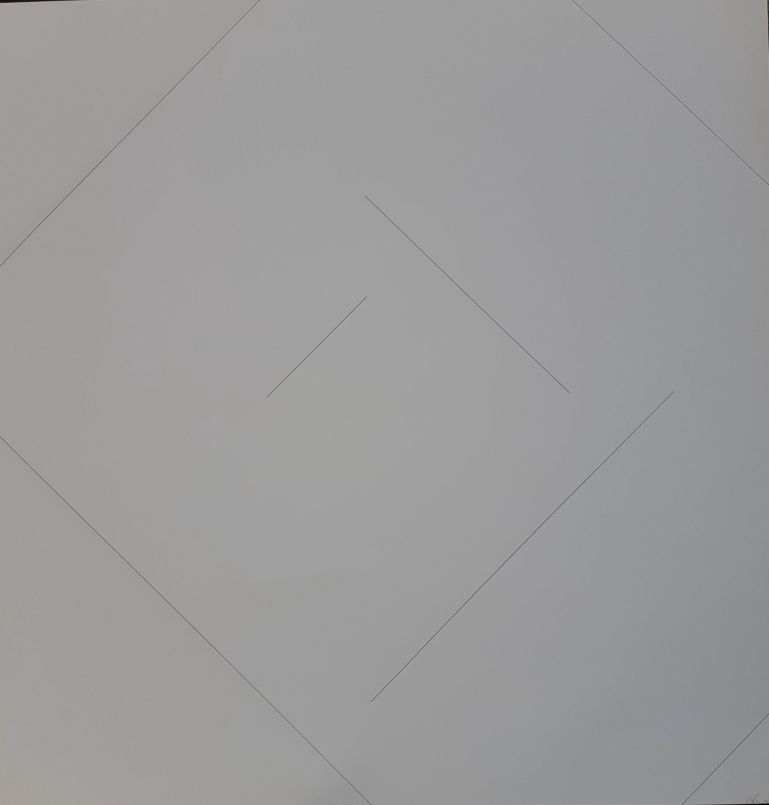 Ad Dekkers - Abstracte zeefdruk - Prent 190 kopen? Bied vanaf 125!