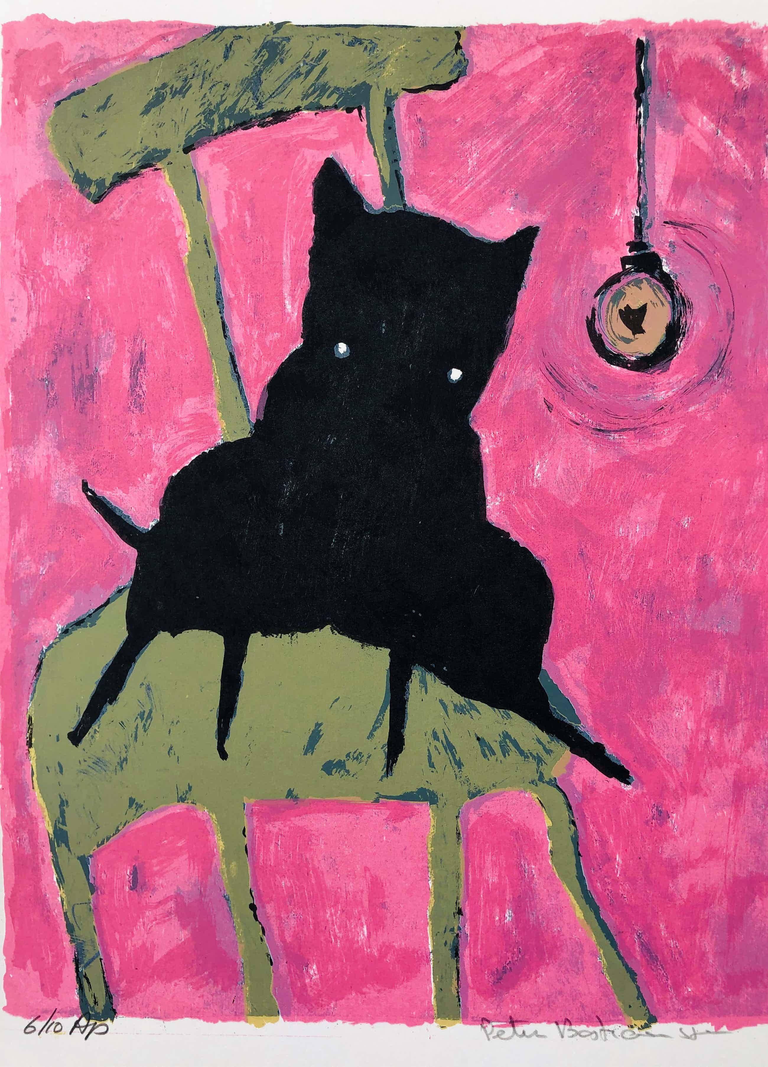 Peter Bastiaanssen - Hondje op stoel I kopen? Bied vanaf 45!