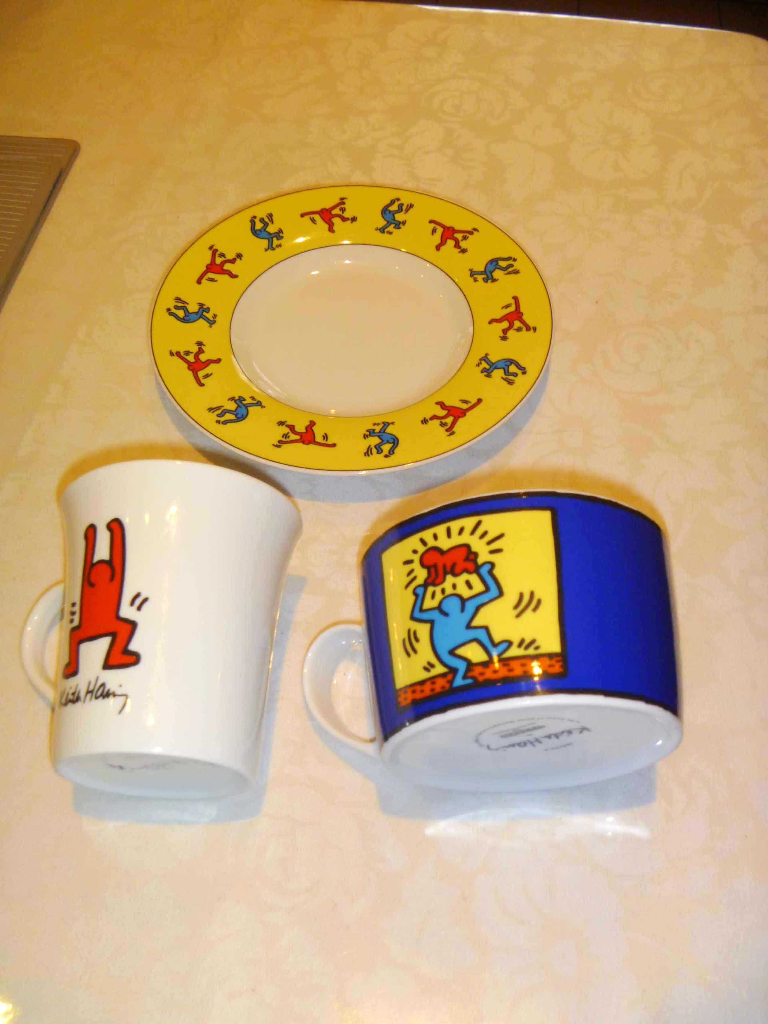 Keith Haring - een mok , een kom en een bord kopen? Bied vanaf 25!