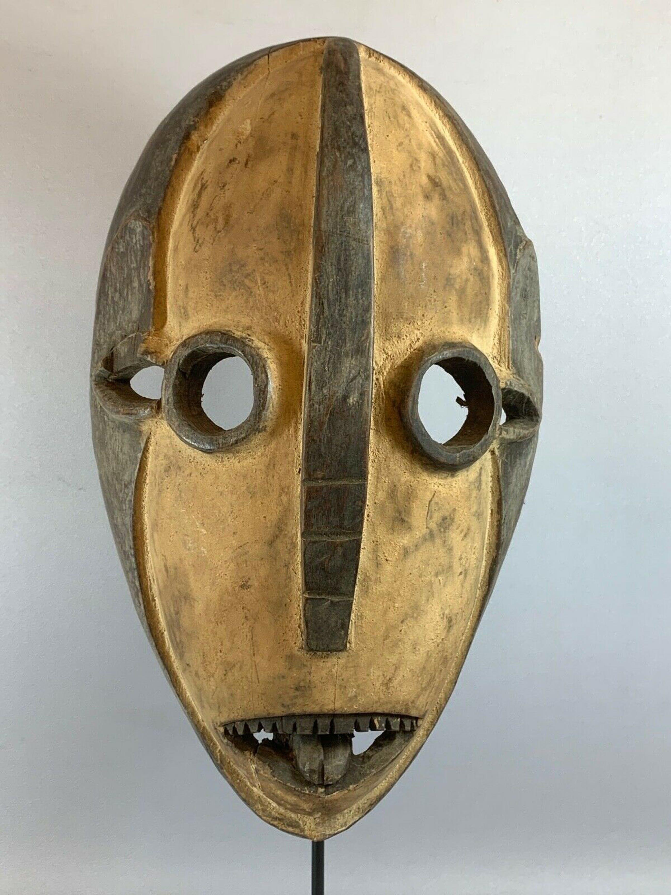 Dan - 210223 - African mask from the Dan - Liberia. kopen? Bied vanaf 35!