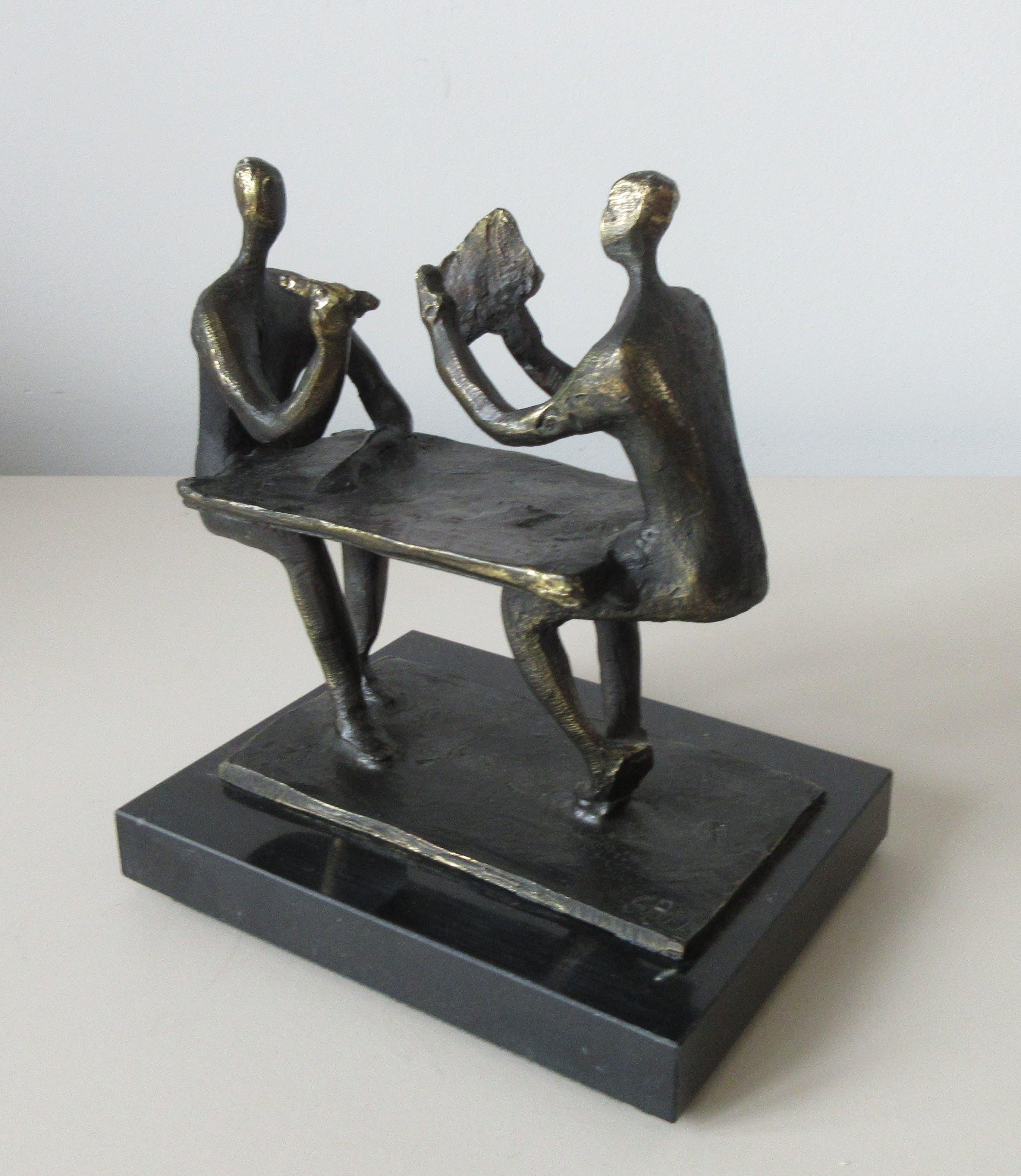 Corry Ammerlaan - Bronzen beeld op marmeren sokkel kopen? Bied vanaf 40!