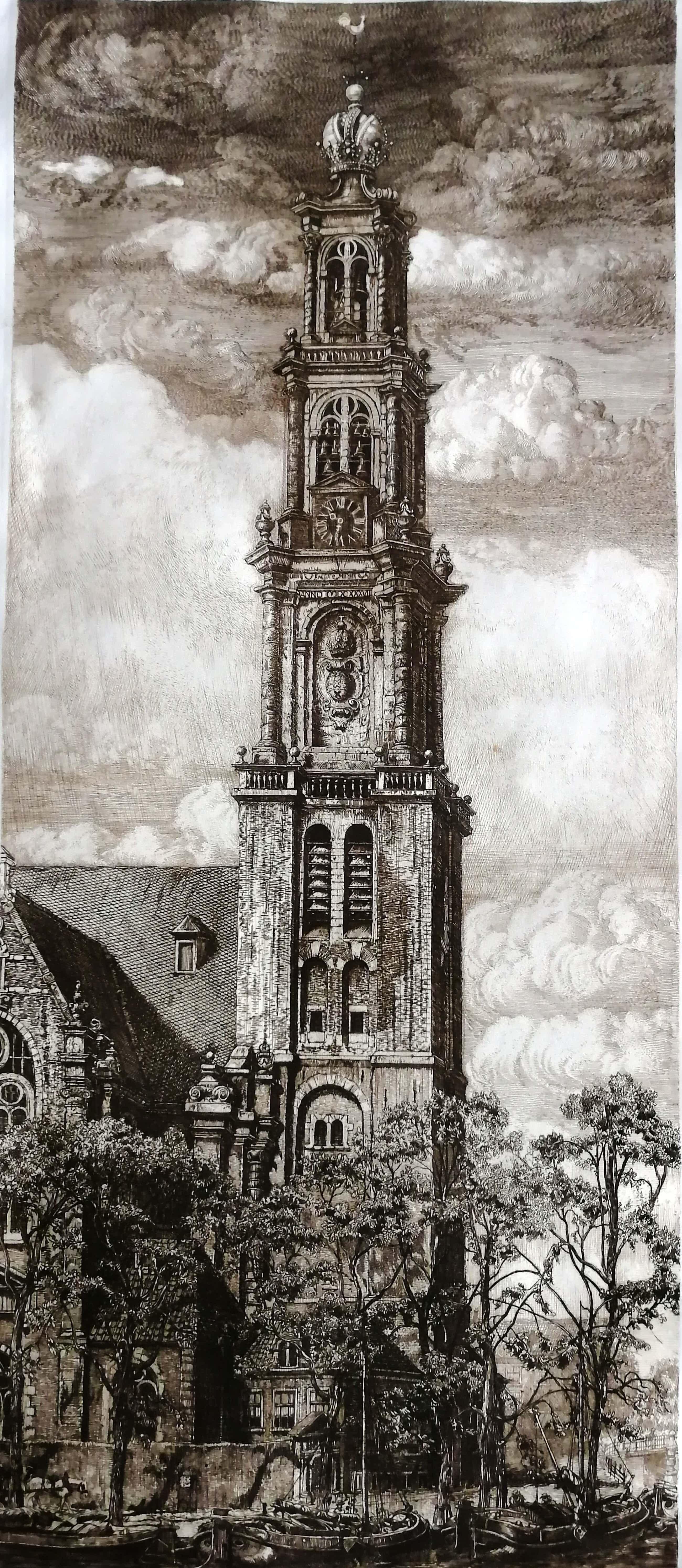 Pieter Dupont - Westertoren te Amsterdam kopen? Bied vanaf 120!