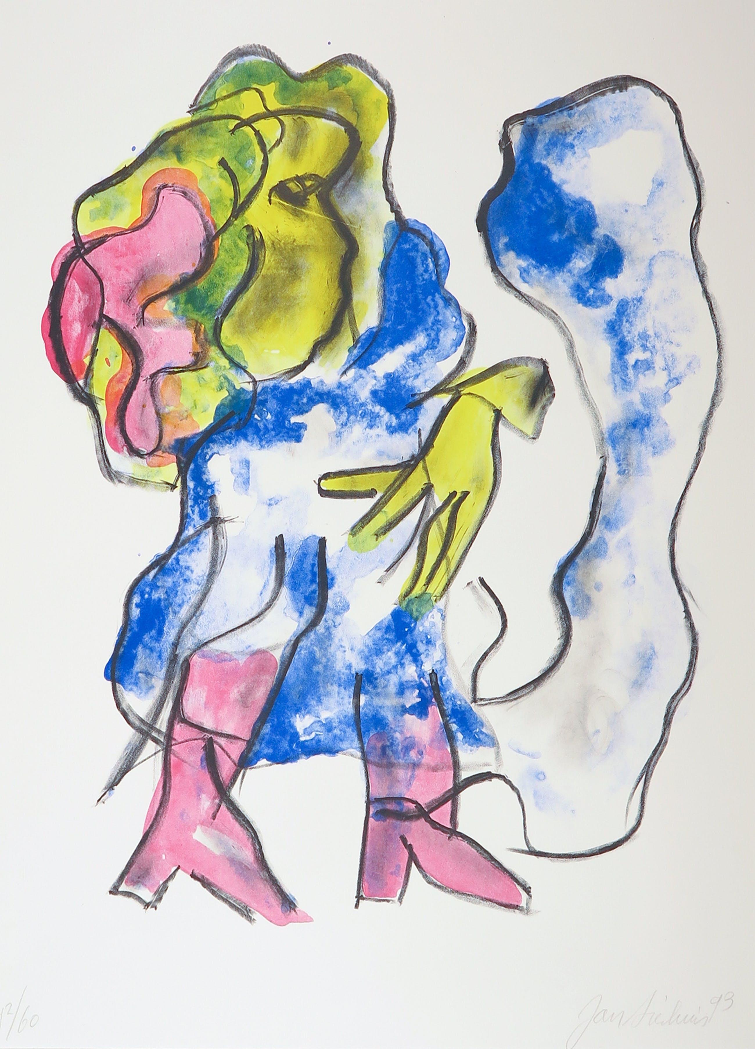 Jan Sierhuis - Litho, Flamenco kopen? Bied vanaf 1!