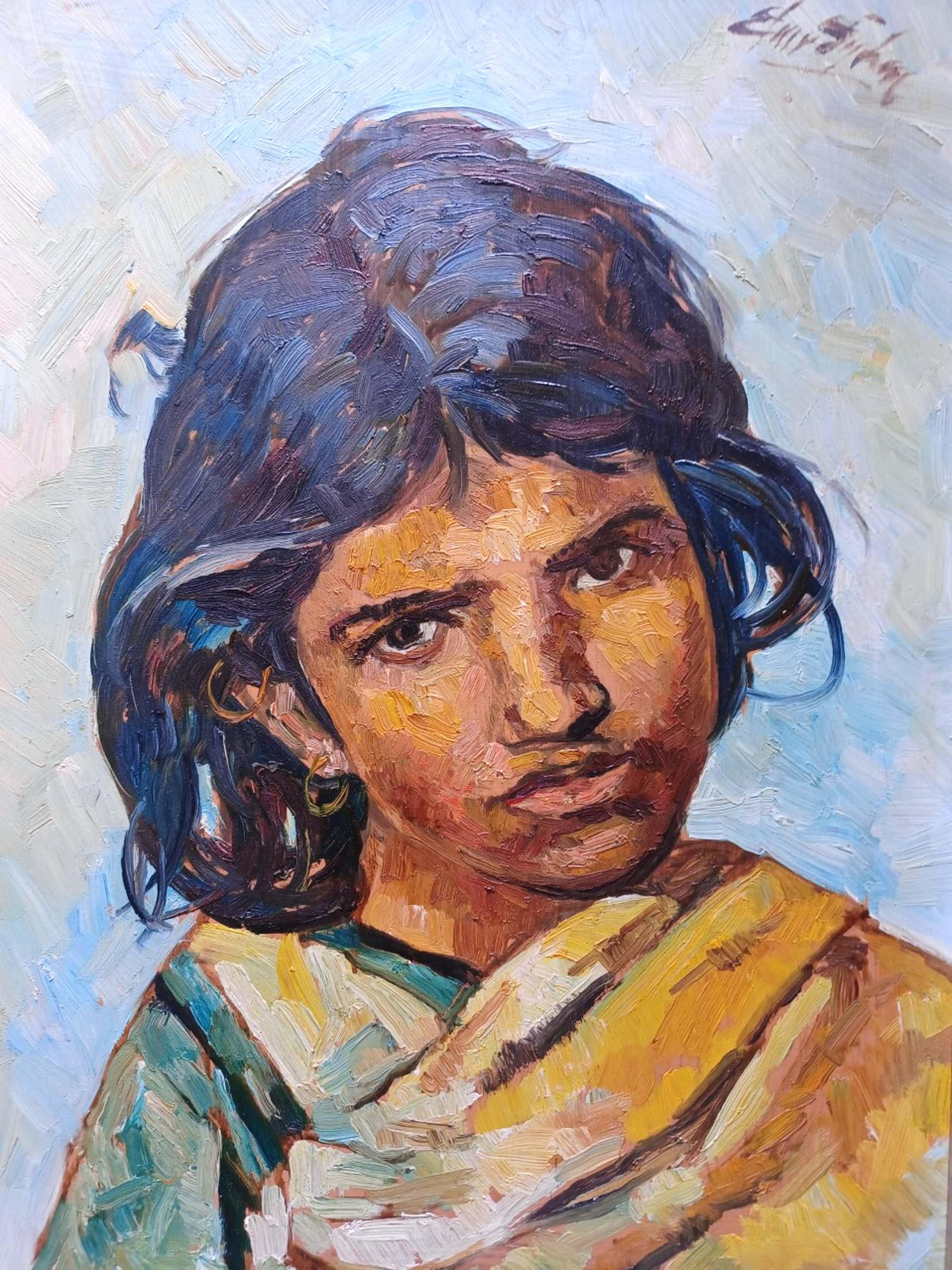 Edmond von Sijben de Maroije - Portret van een meisje. kopen? Bied vanaf 59!