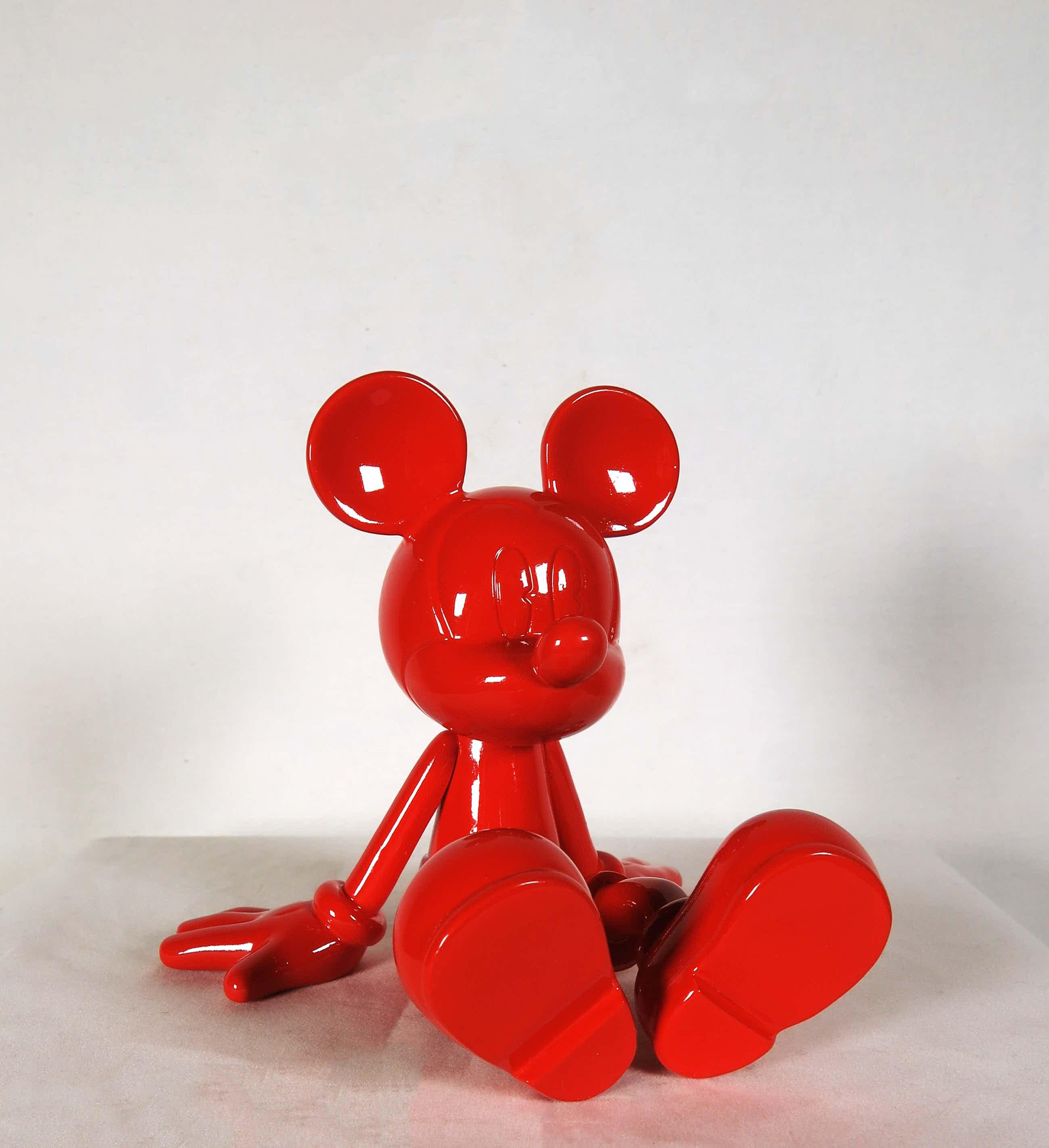 Marcel Wanders - Disney - Leblon Delienne - Sitting Mickey Glossy Red kopen? Bied vanaf 120!