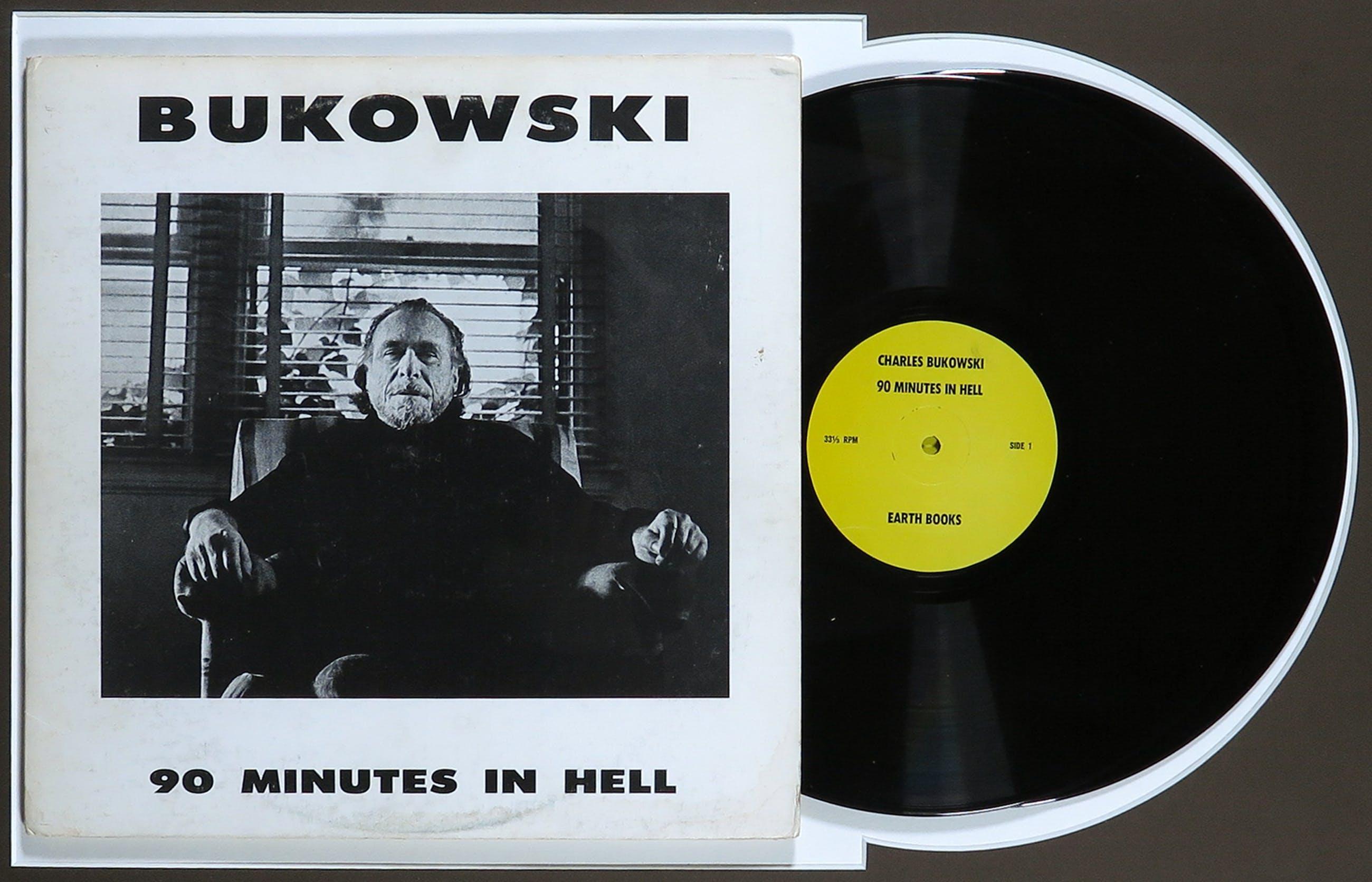Charles Bukowski - 90 Minutes in hell - Ingelijst kopen? Bied vanaf 1!