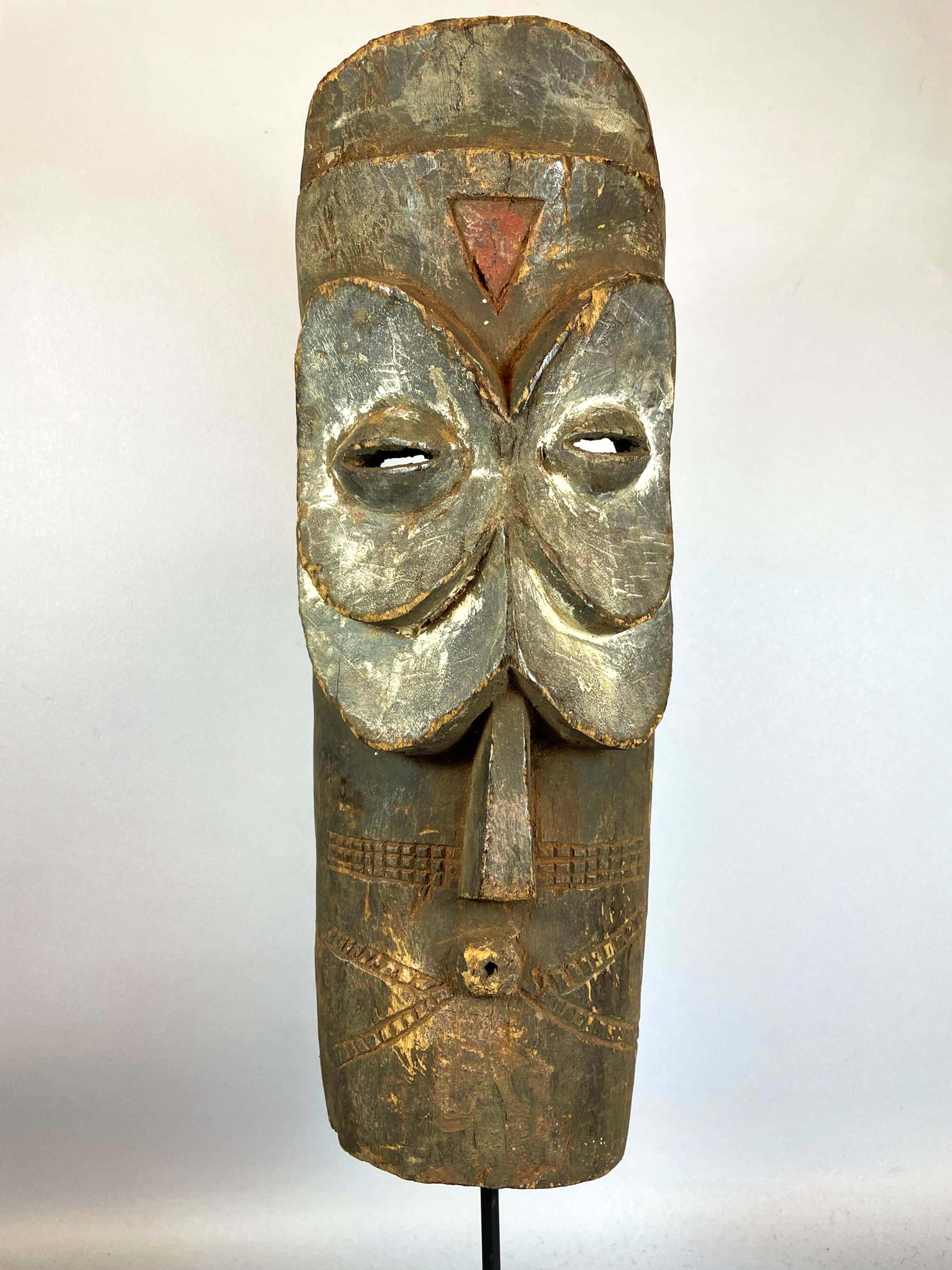 Bembe - 210640 - OLD Tribal used African mask from the Bembe - Congo. kopen? Bied vanaf 45!