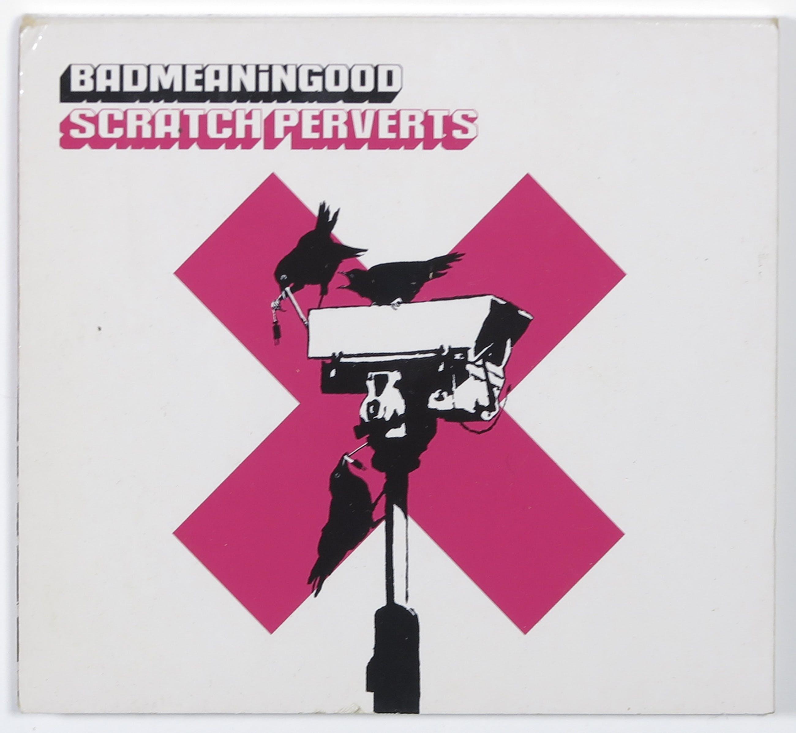 Banksy - Badmeaninggood vol. 4 door Scratch Perverts (CD) - Ingelijst kopen? Bied vanaf 1!