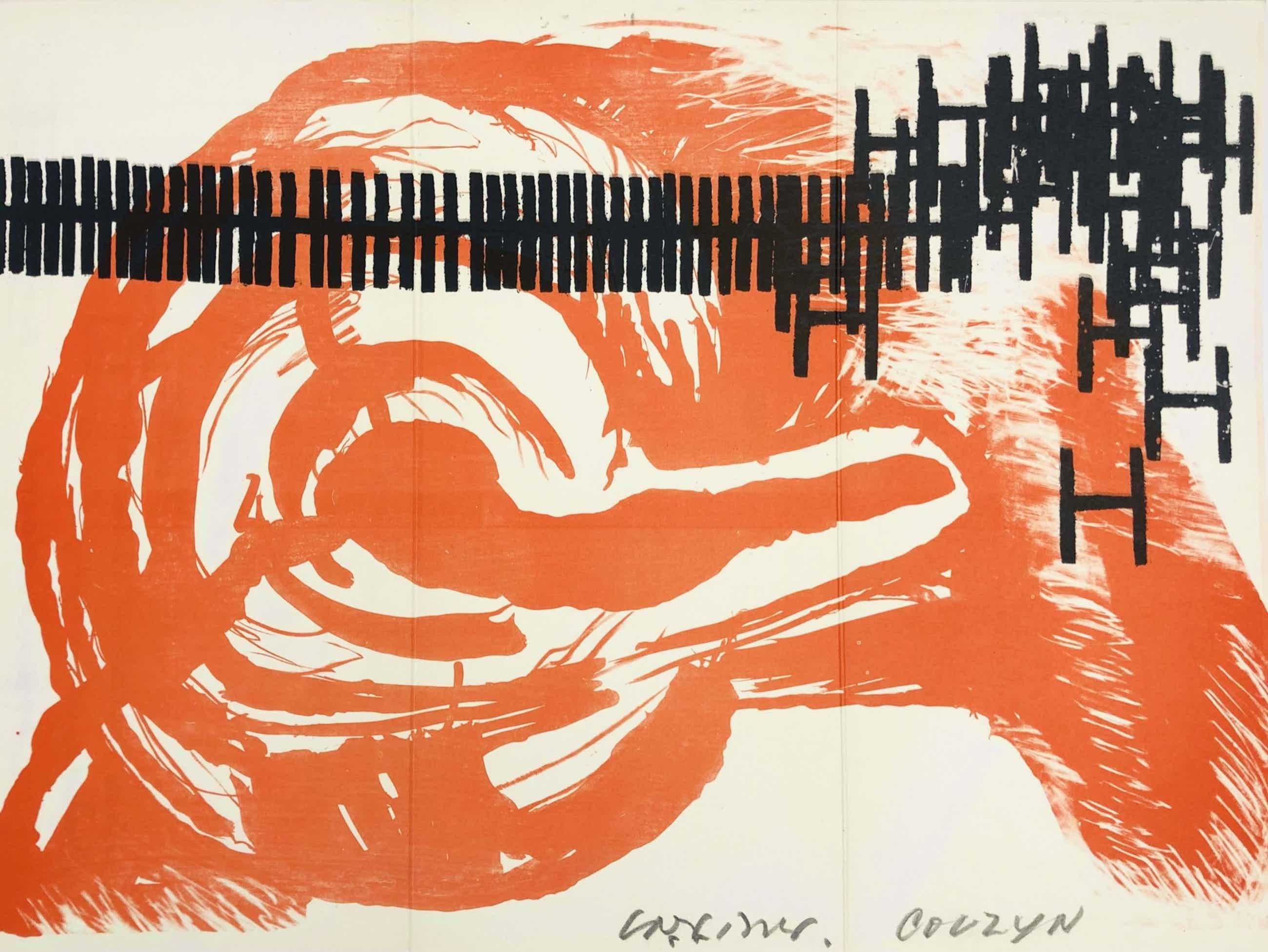 Wessel Couzijn - Carel Visser - uitnodigingskaart Atelierfeest op 19 maart 1965 kopen? Bied vanaf 225!