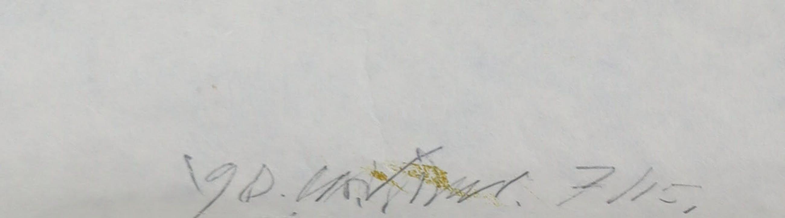 Carel Visser - Houtsnede op geschept papier, Zonder titel (Groot) kopen? Bied vanaf 50!