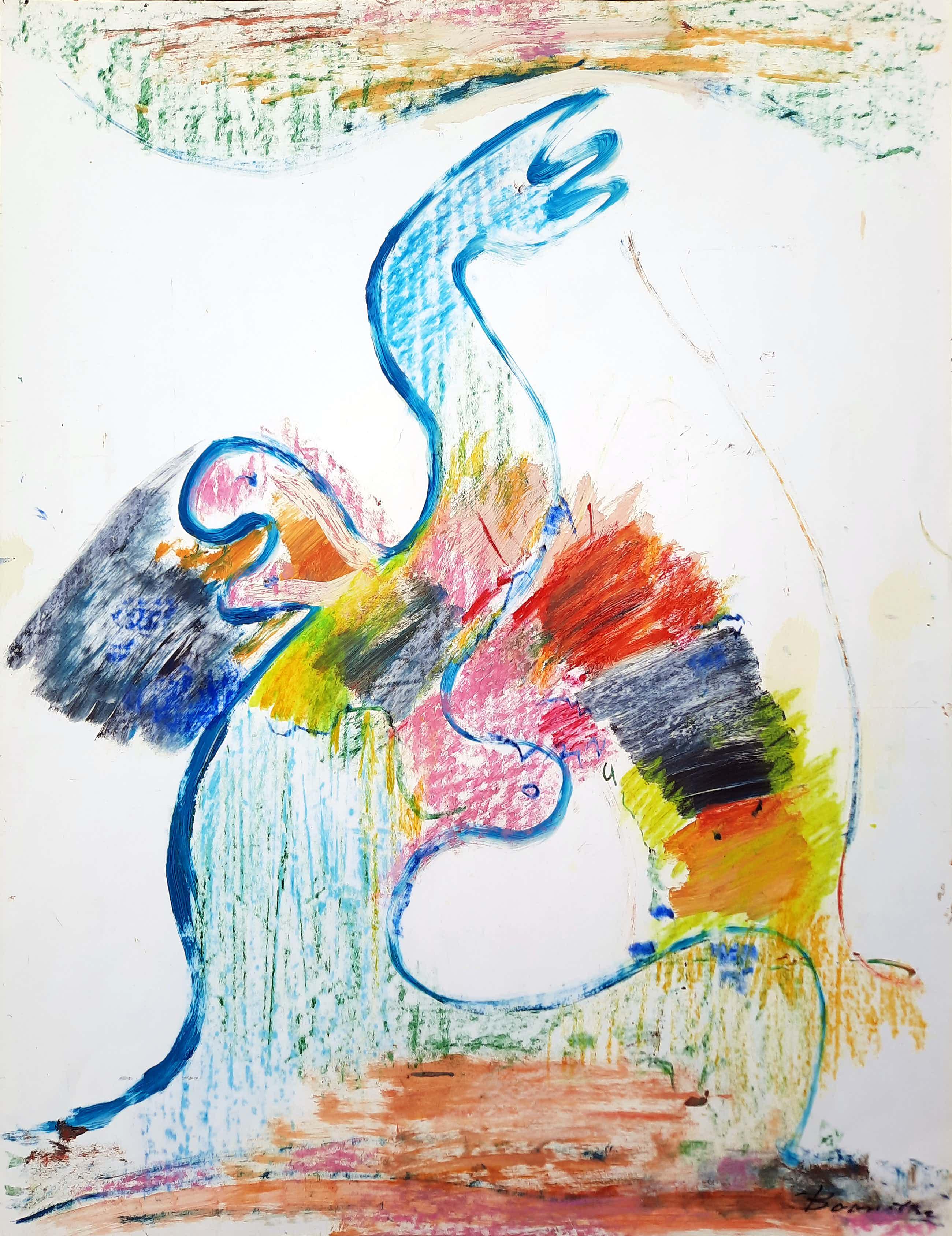 Klaas Boonstra - Compositie van kleurrijke figuren - UNICUM - 21503 kopen? Bied vanaf 350!